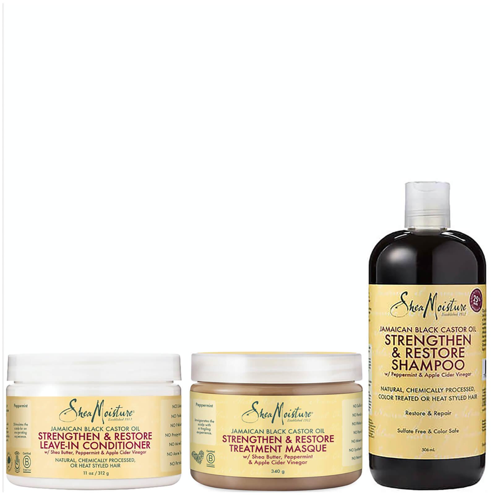 shea moisture jamaican black castor oil bundle (worth £38.97)
