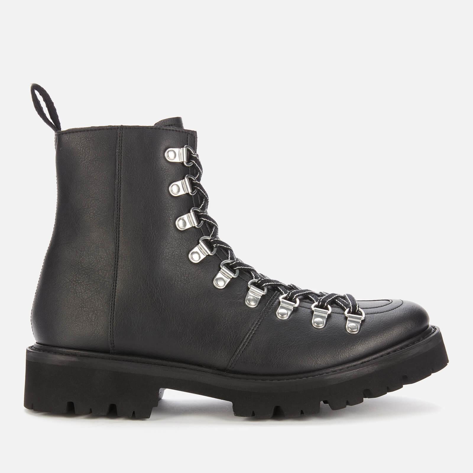 Grenson Women's Nanette Vegan Hiking Style Boots - Black - Uk  3