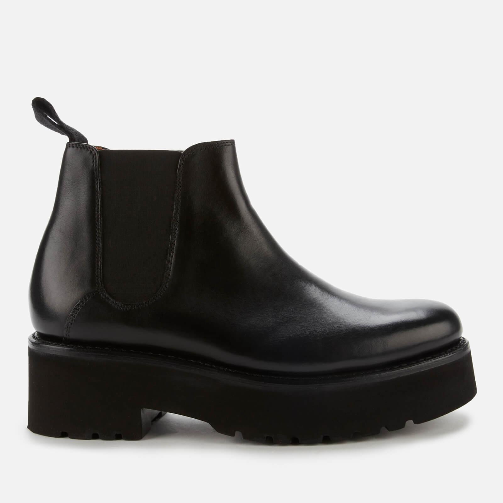 Grenson Women's Naomi Leather Chelsea Boots - Black - Uk  8