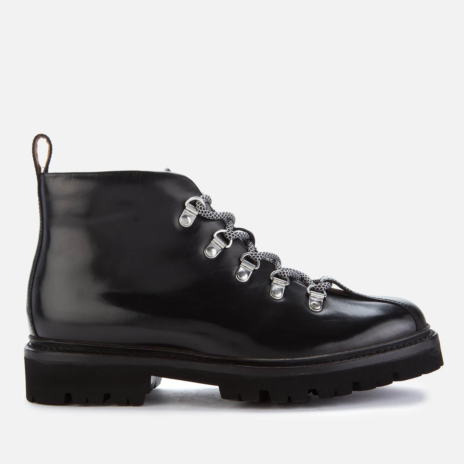 Grenson Women's Bridget Leather Hiking Style Boots - Black