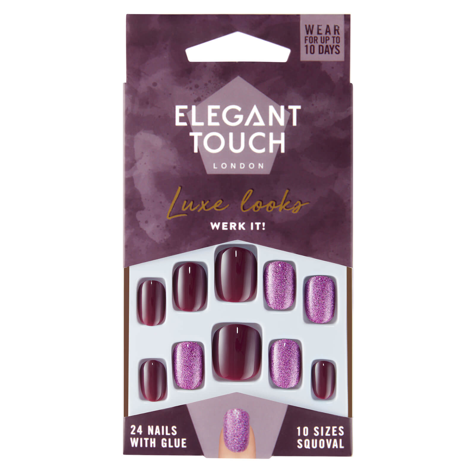 Купить Elegant Touch Luxe Looks Werk it Nails