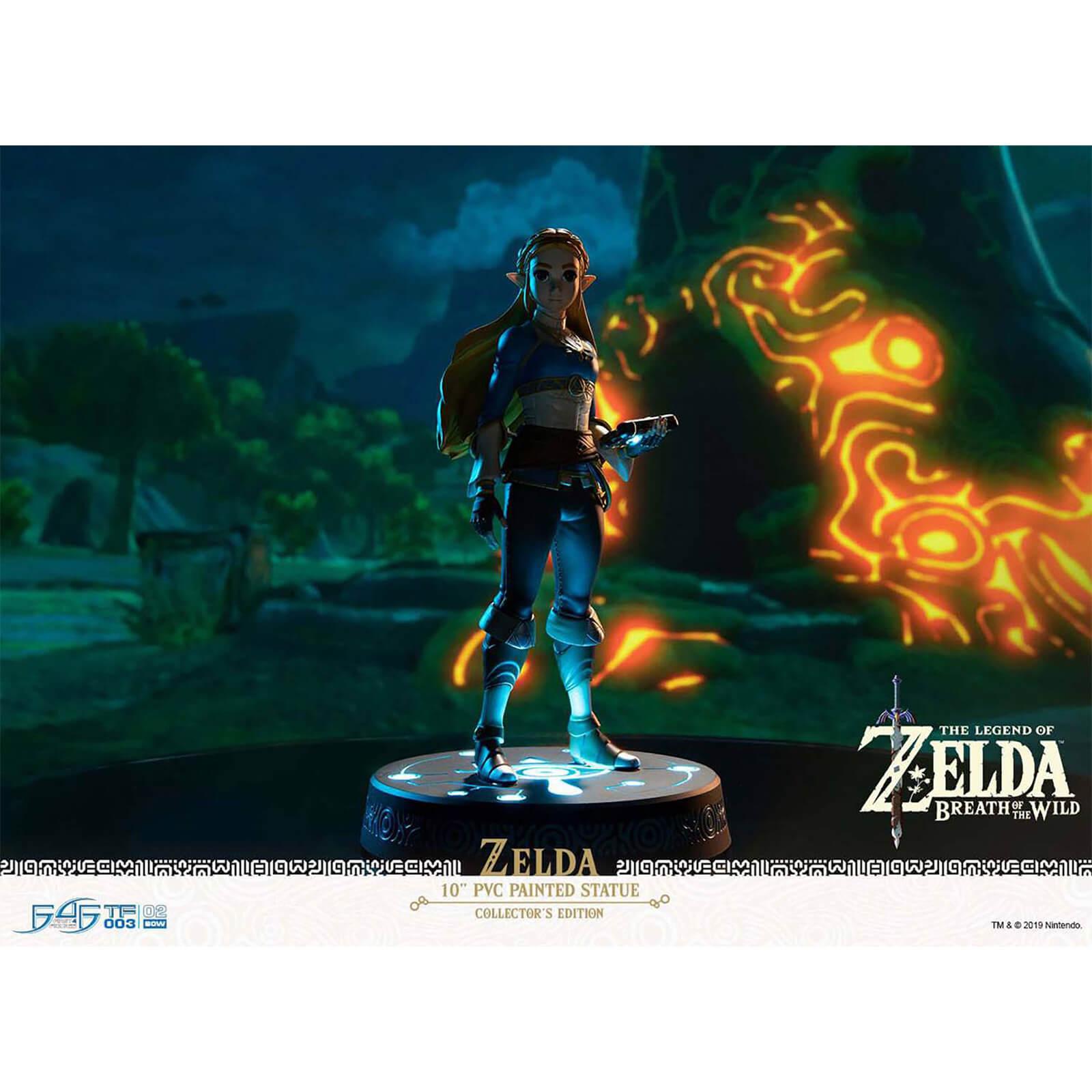 First 4 Figures The Legend Of Zelda: Breath of the Wild Collectors Edition 25cm PVC Figures - Zelda