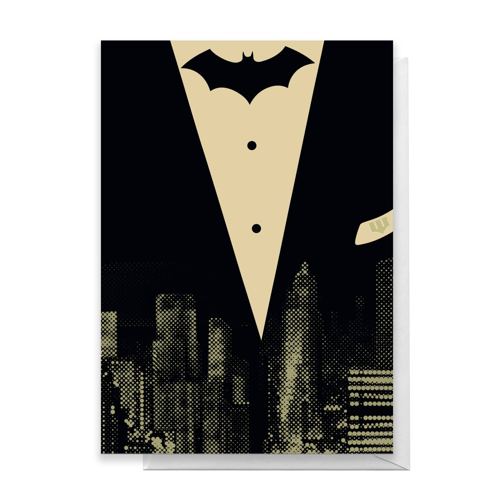 Batman Tuxedo Greetings Card   Standard Card