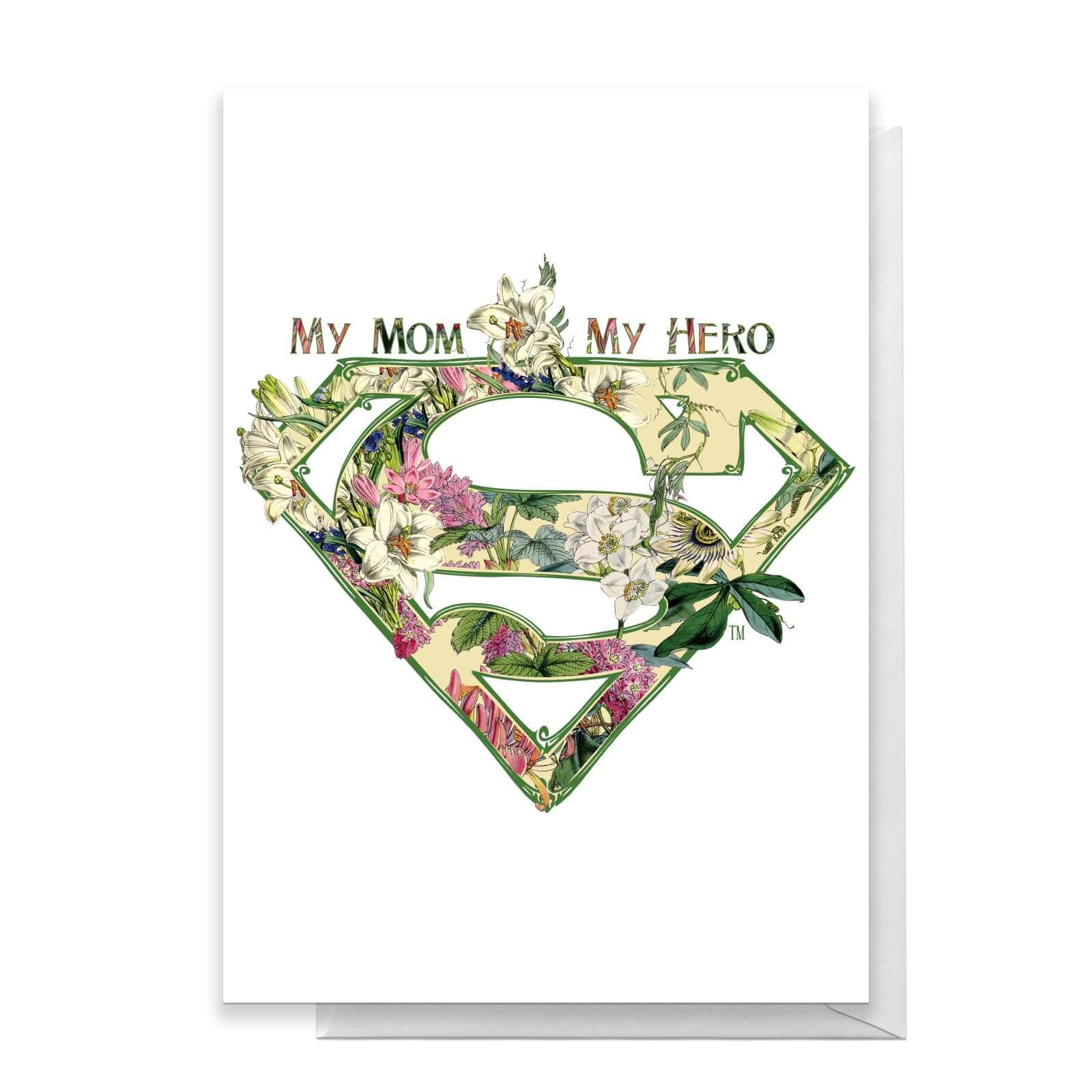 Superman Mothers Day Greetings Card   Standard Card