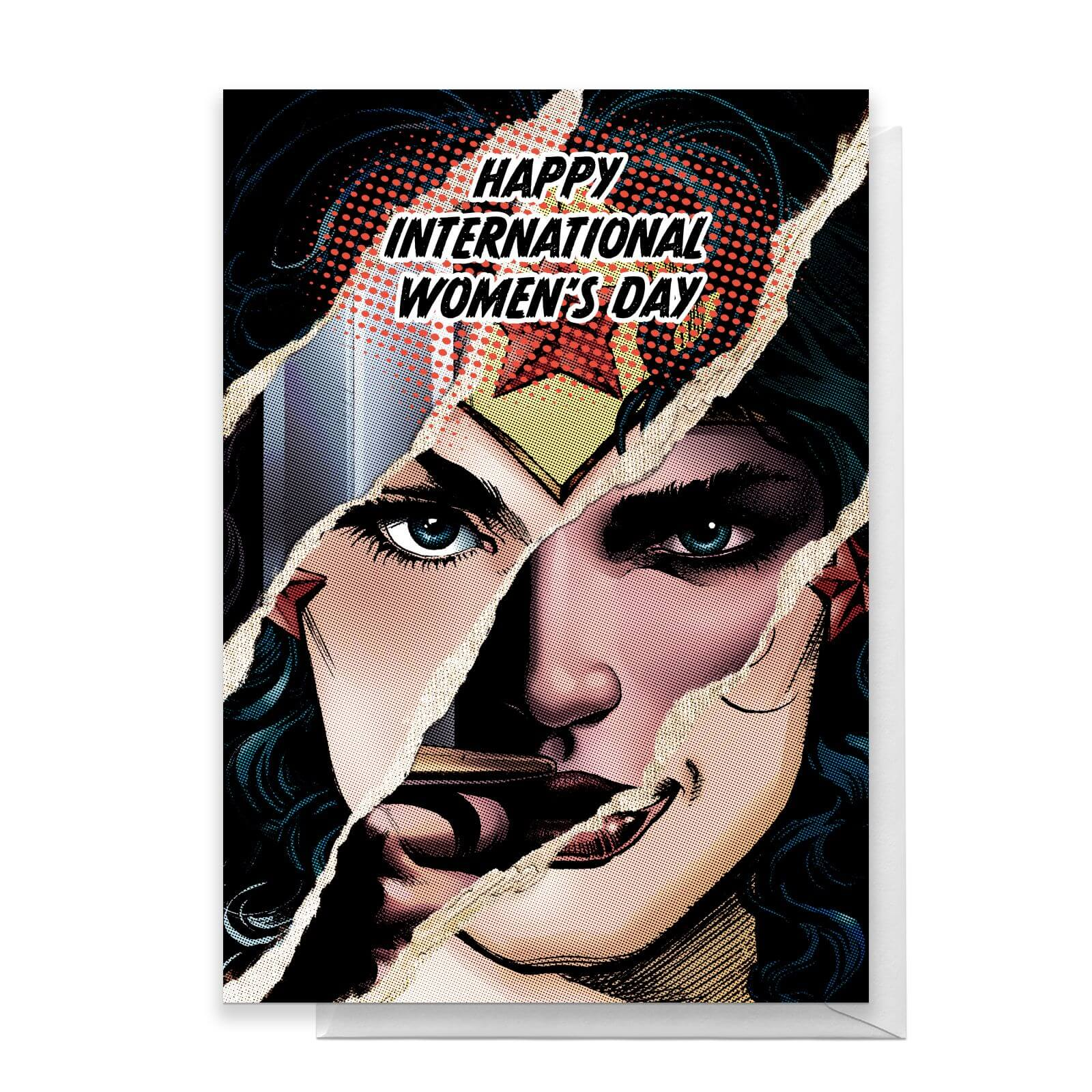 Wonder Woman International Womens Day Greetings Card   Standard Card