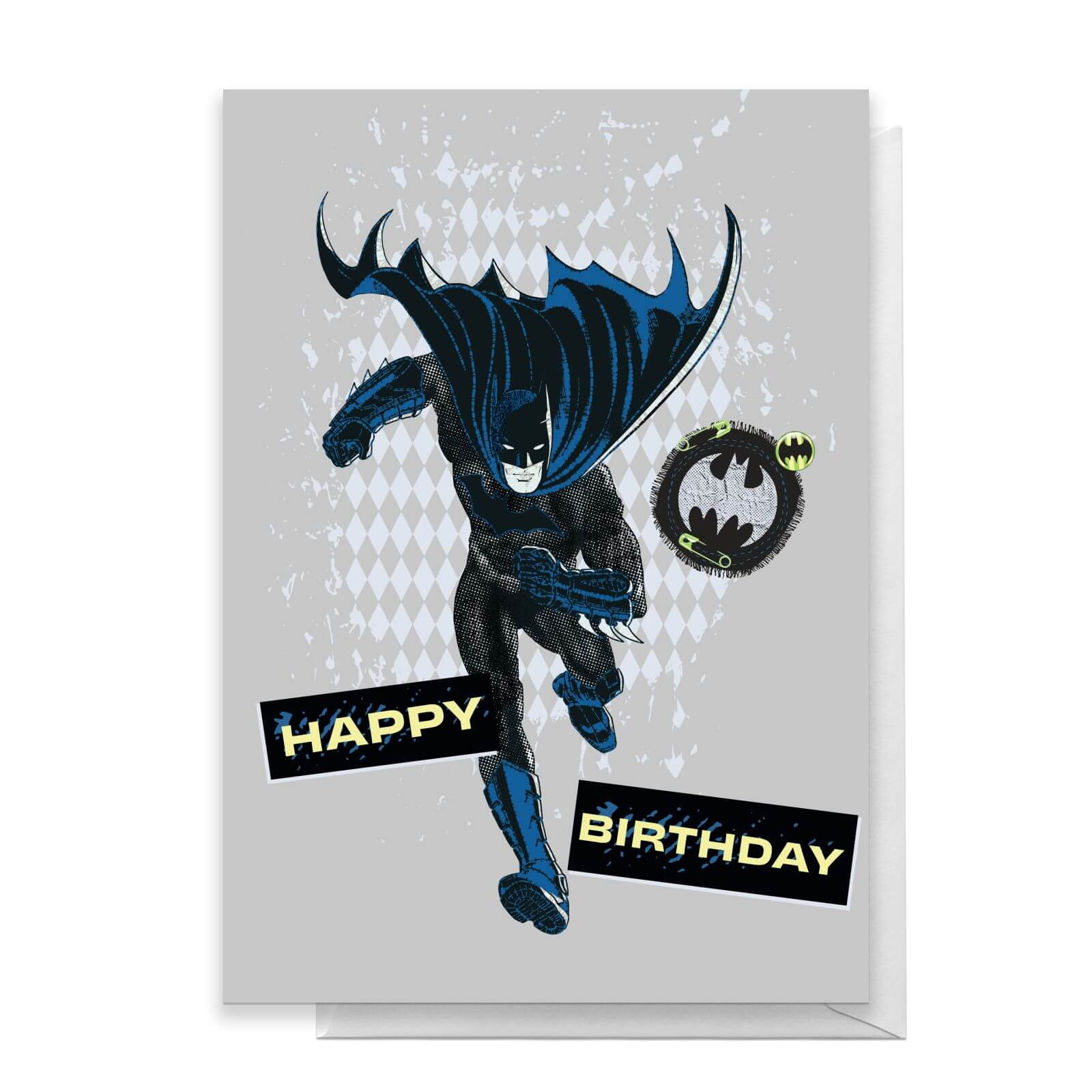 Batman Happy Birthday Greetings Card   Standard Card