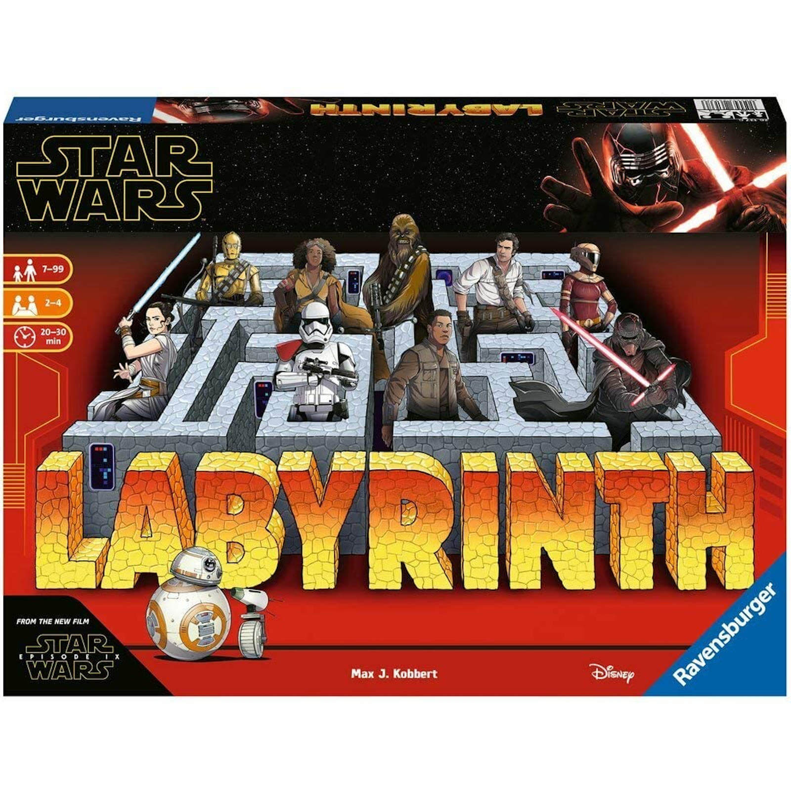 Image of Ravensburger Star Wars IX Labyrinth Board Game
