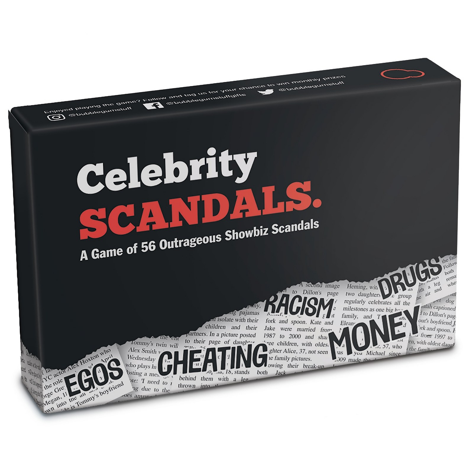 Image of Celebrity Scandals Card Game
