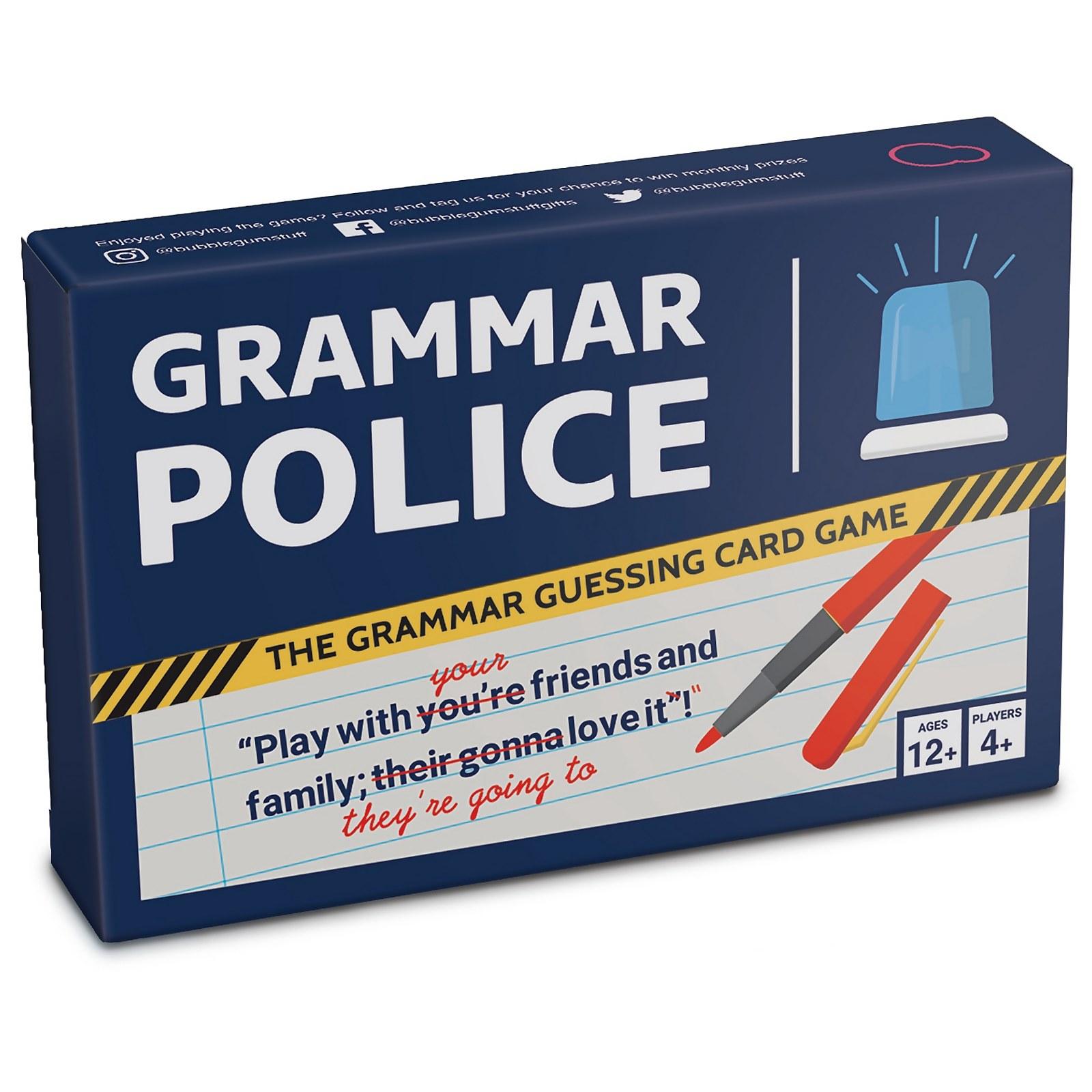 Image of Grammar Police Card Game