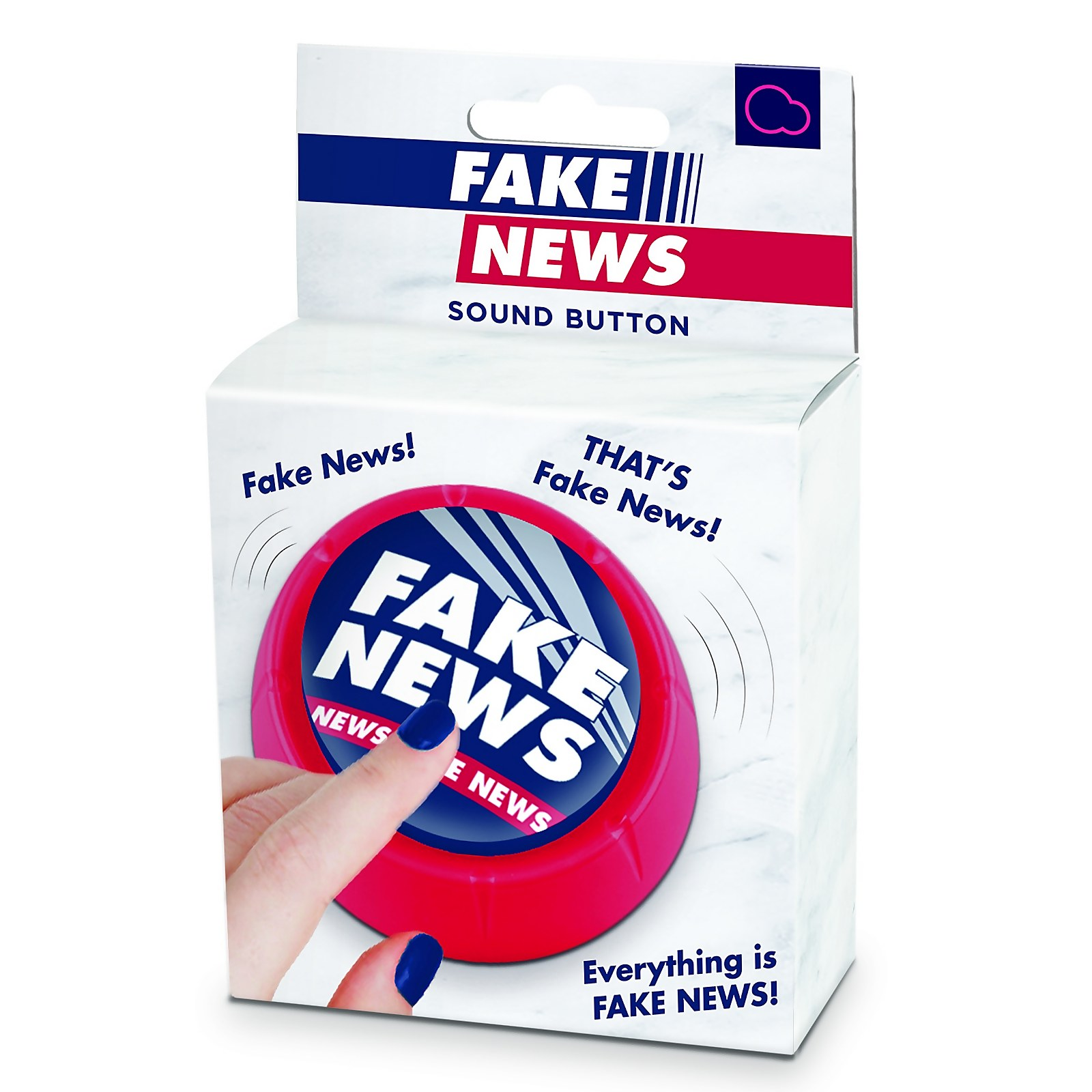 Image of Fake News Sound Button