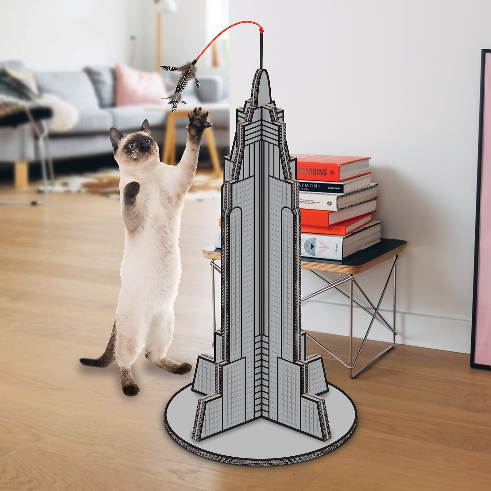 Image of Cat Kong Scratching Post