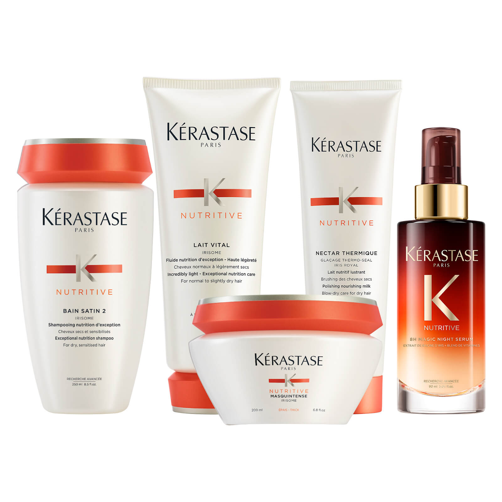 Kérastase Nutritive Nourishing Routine for Thick Hair