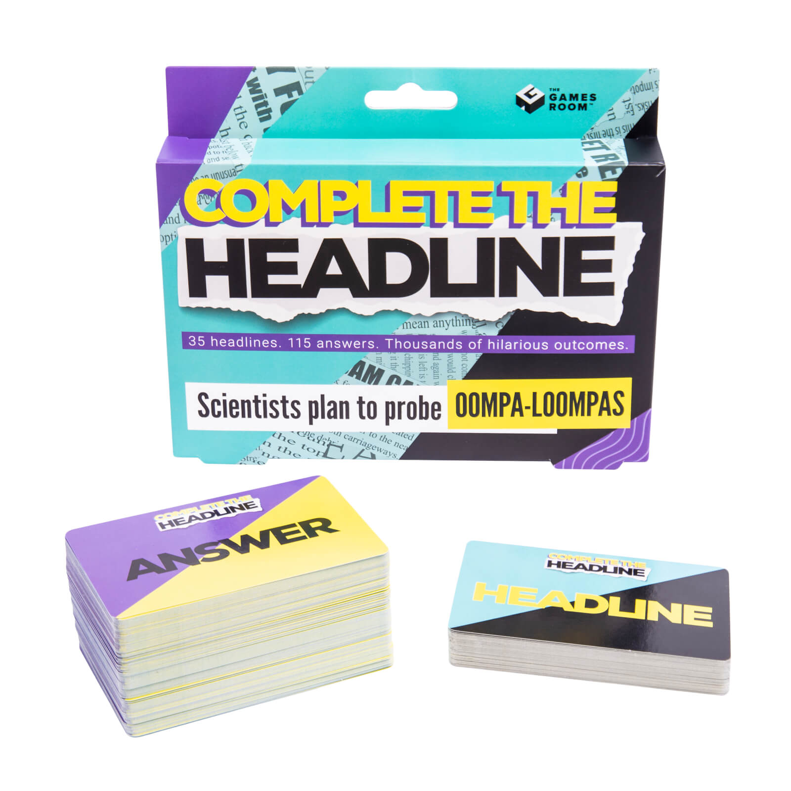 Image of Complete the Headline Card Game