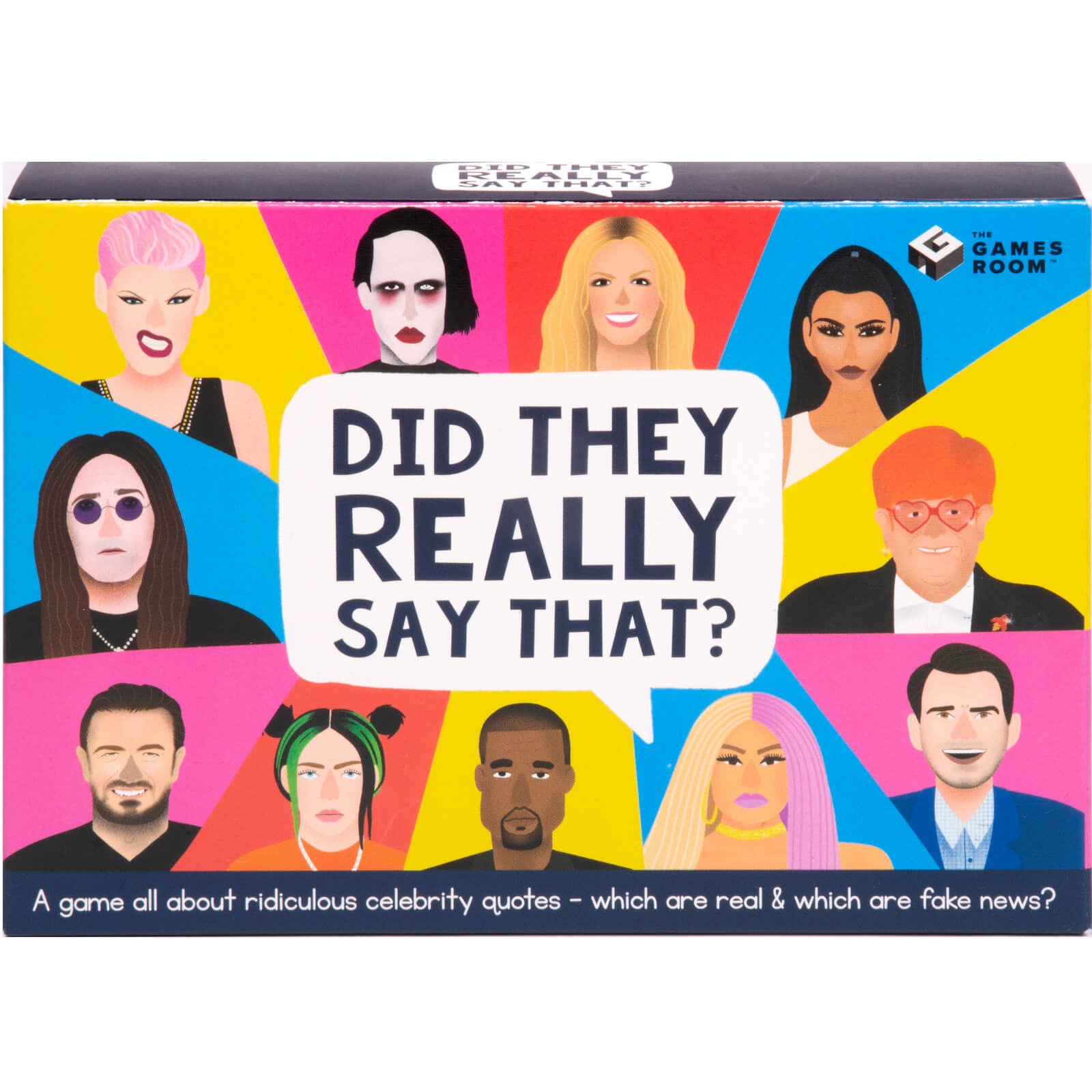 Image of Did they Really Say That? Card Game