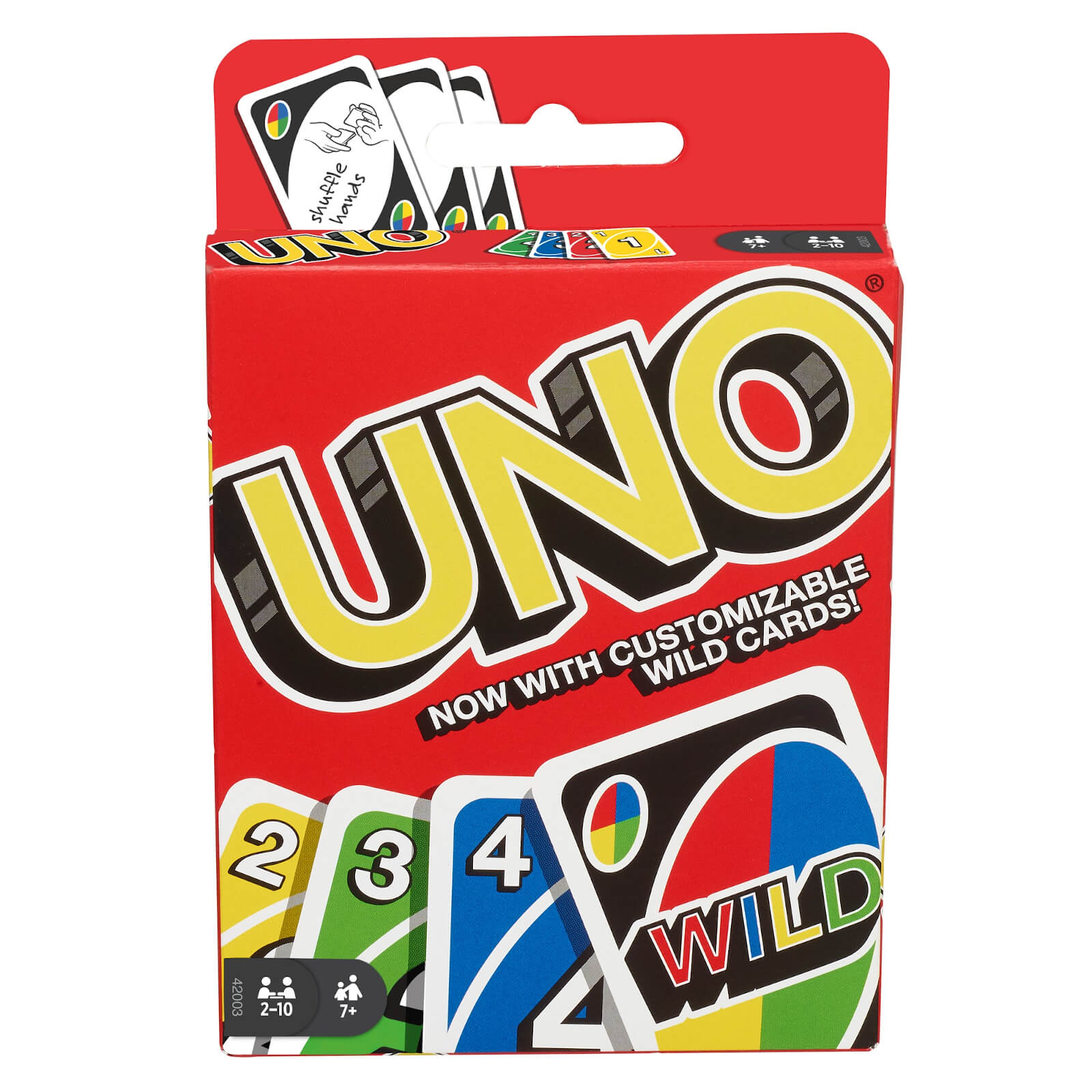Image of Uno Playing Card Game
