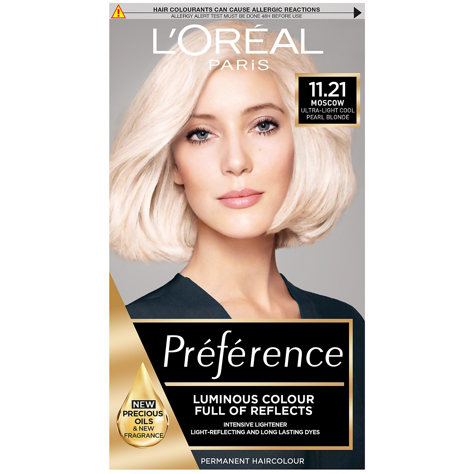 L'Oréal Paris Préférence Infinia Hair Dye (Various Shades) - 11.21 Ultra Light Pearl Blonde