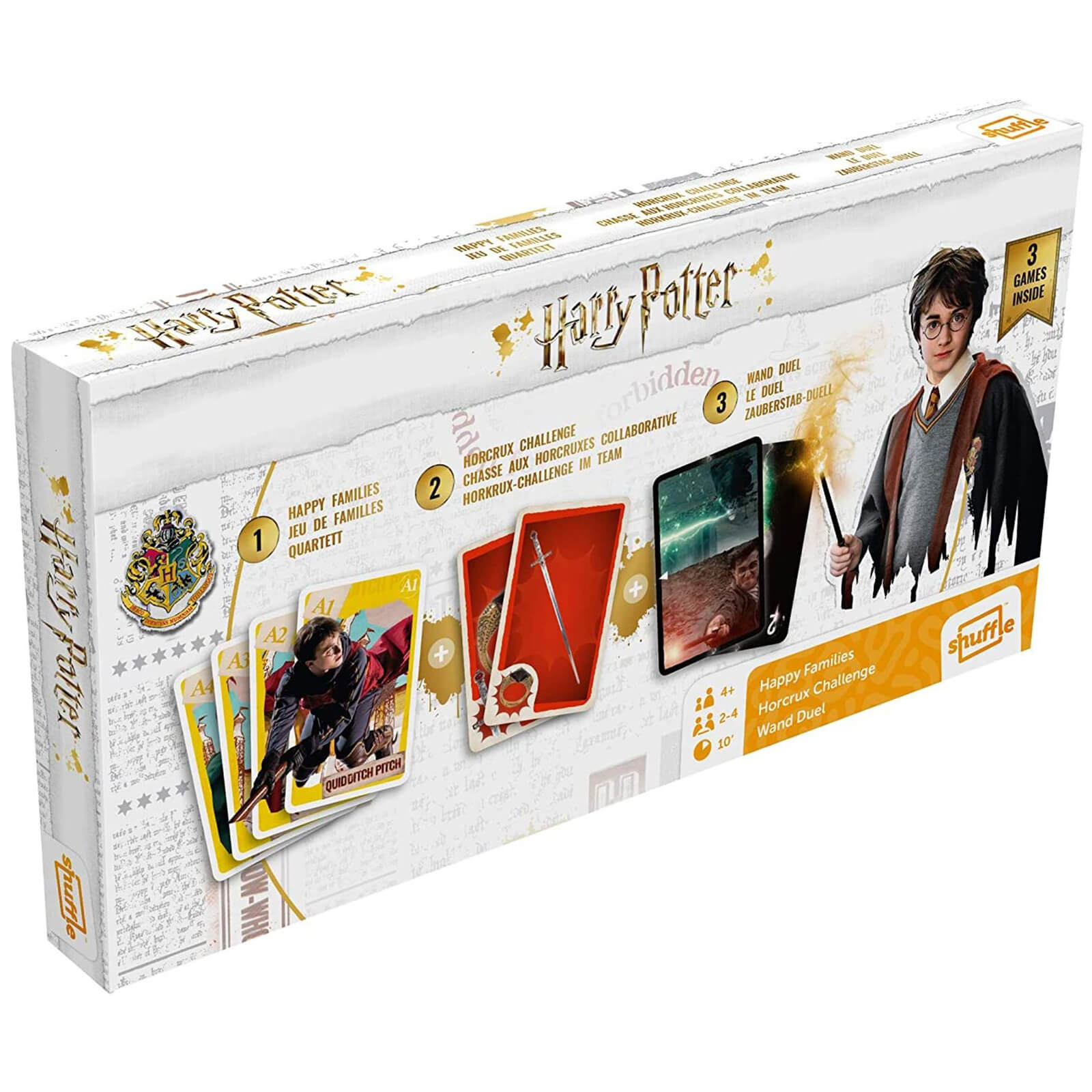 Image of Harry Potter Card Games Tri-Pack