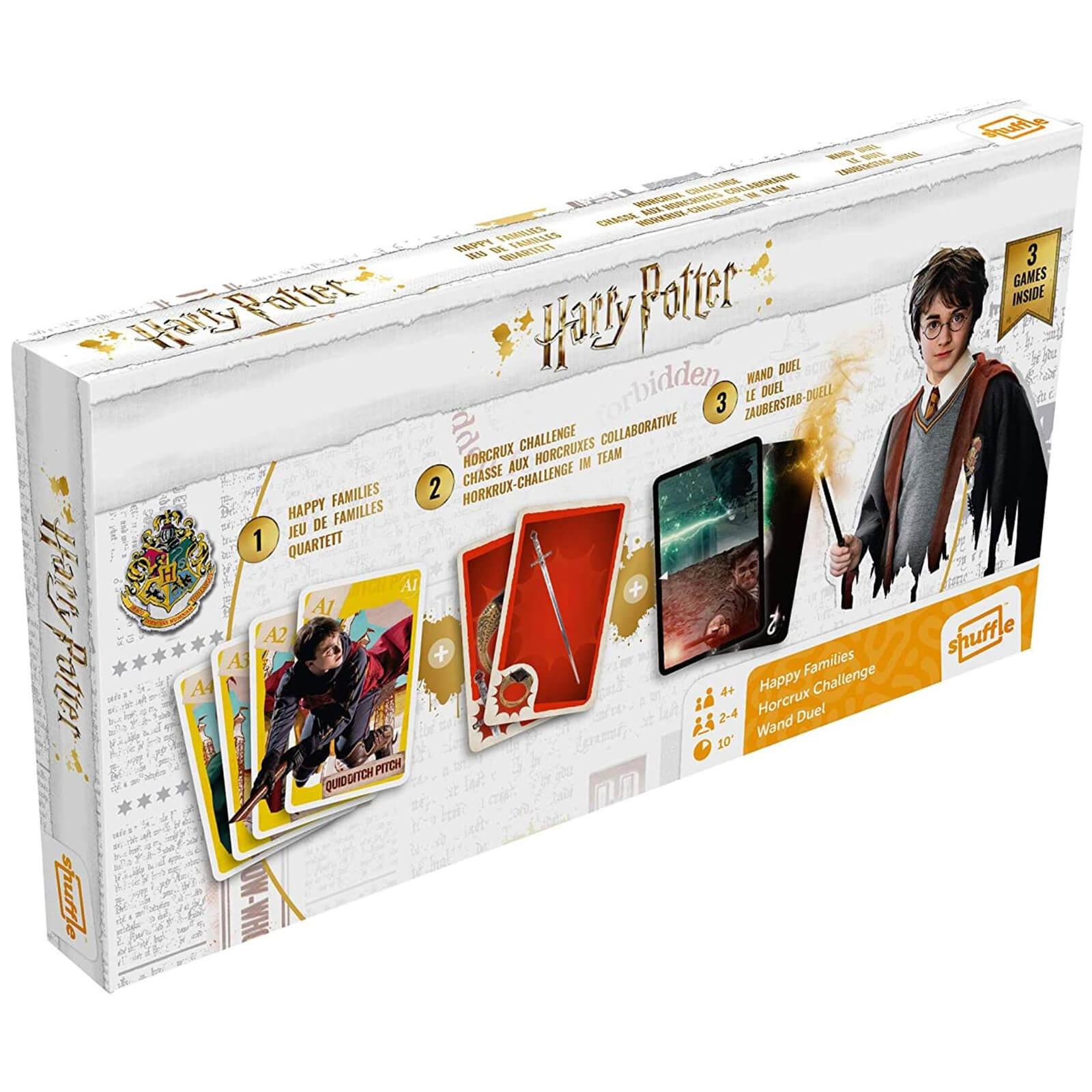 Harry Potter Card Games Tri-Pack