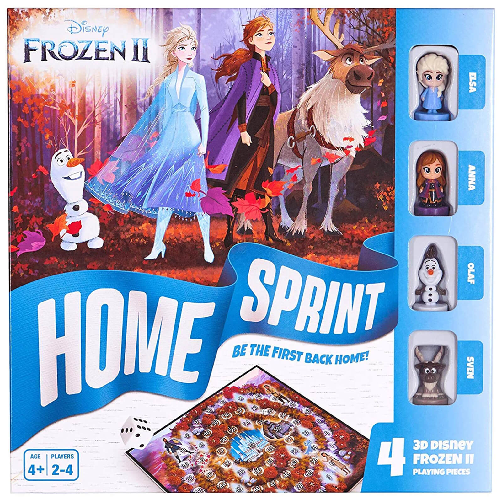 Image of Disney Frozen 2 Home Sprint Board Game