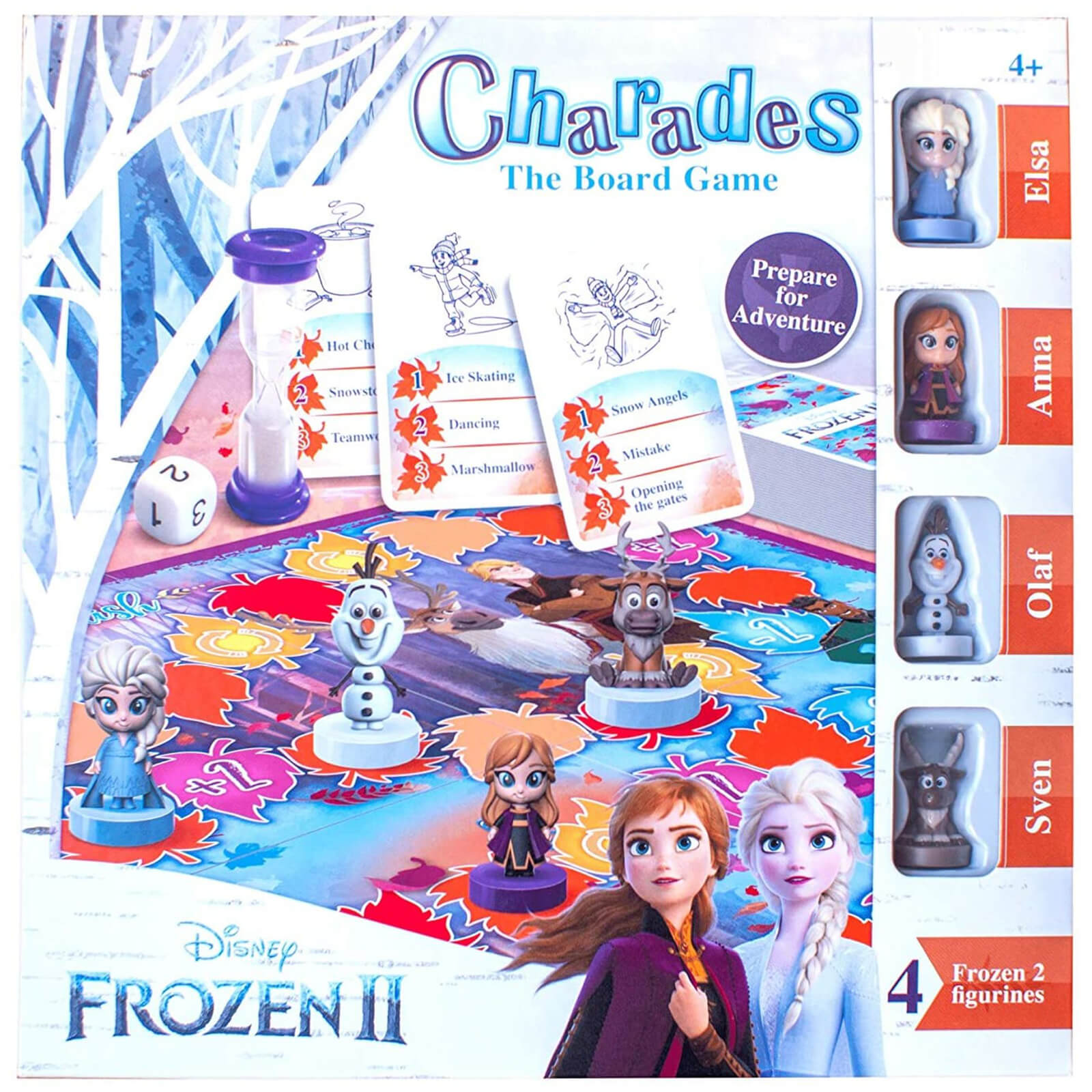 Image of Disney Frozen 2 Charades Board Game