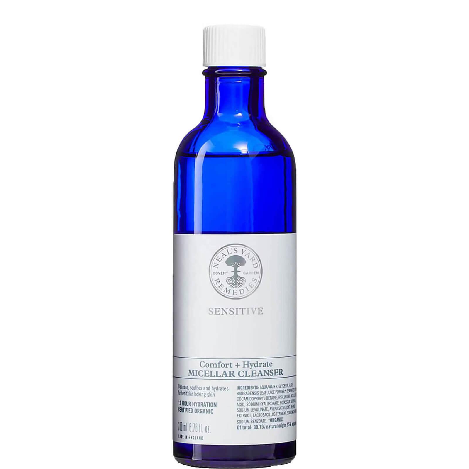Neal's Yard Remedies Sensitive Comfort + Hydrate Micellar Cleanser 200ml