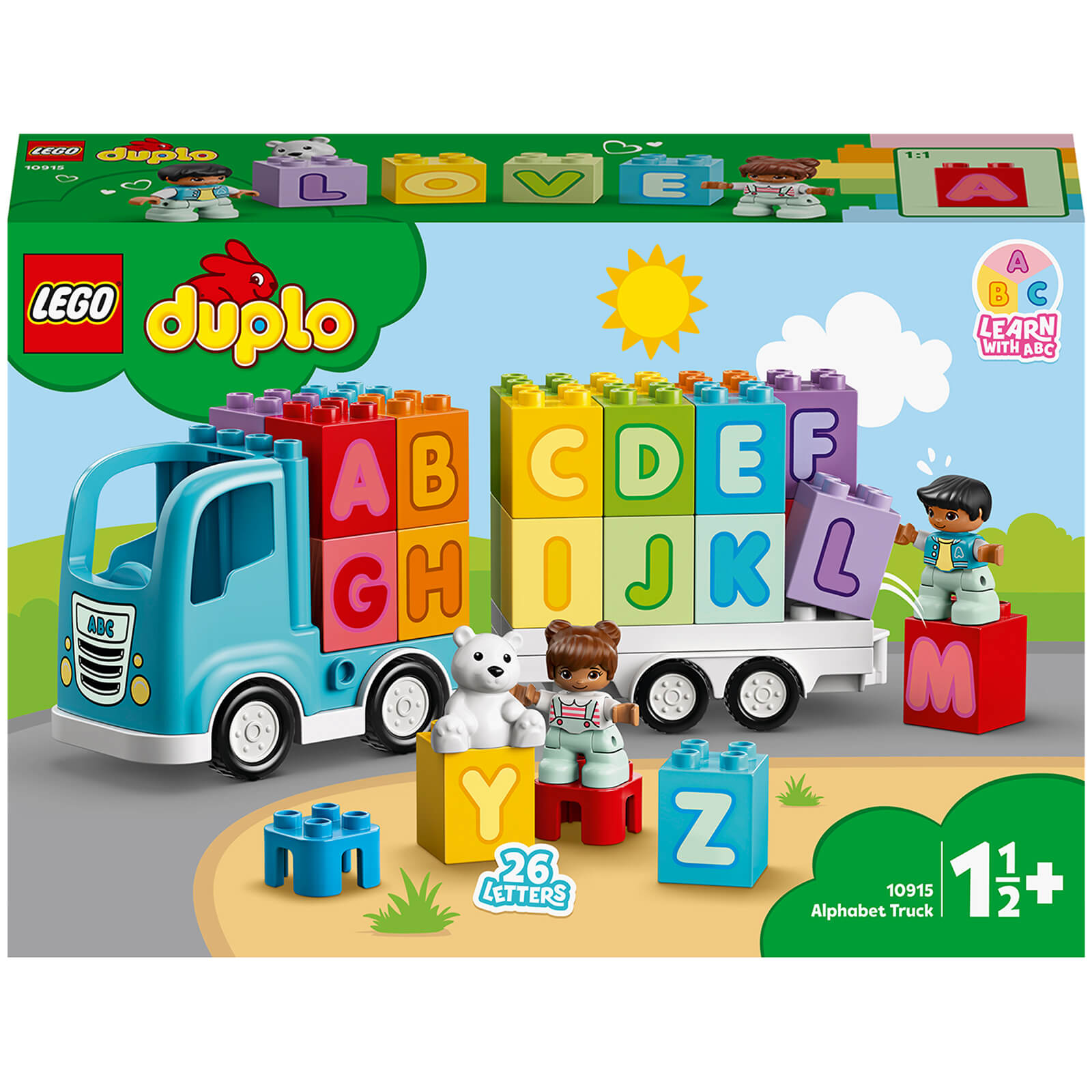 Image of 10915 LEGO® DUPLO® My first ABC truck