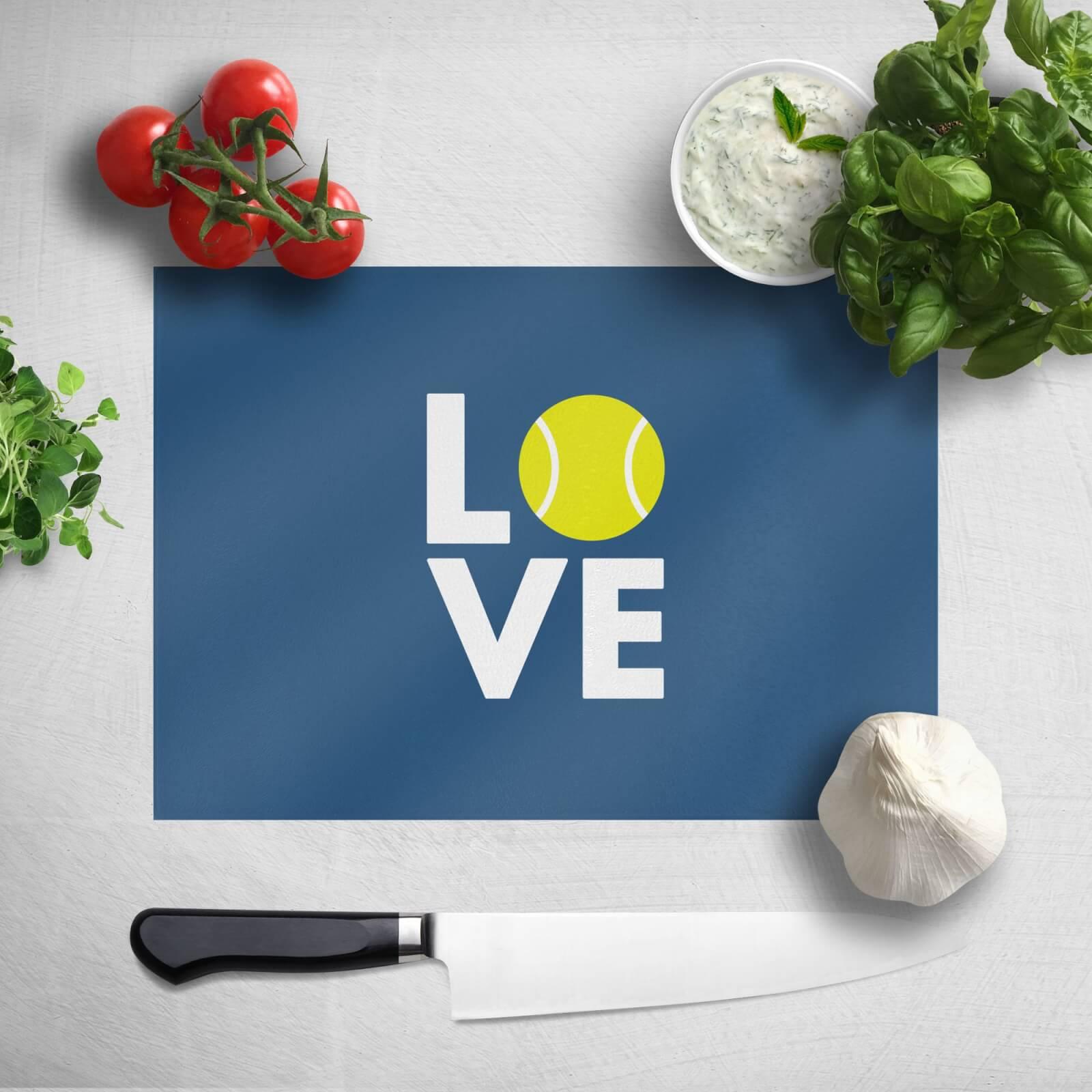 Love Tennis Chopping Board