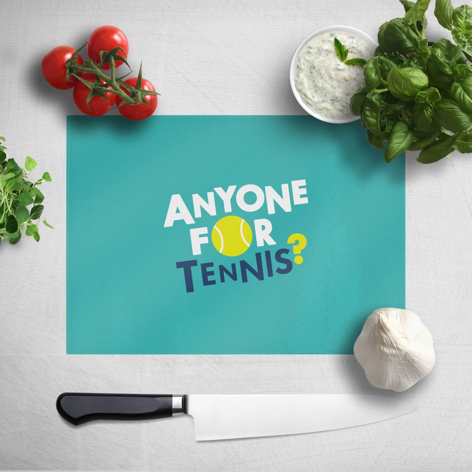 Anyone For Tennis Chopping Board
