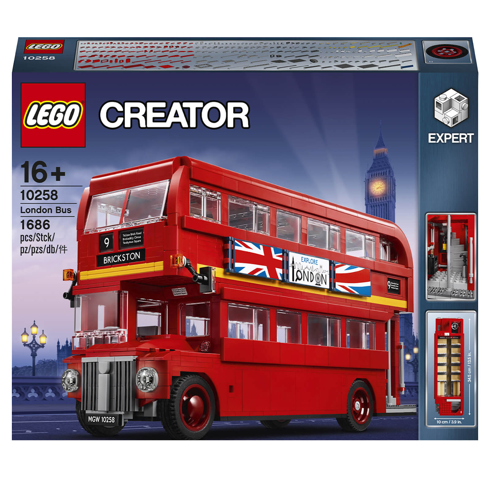 Image of LEGO Creator Expert: London Bus (10258)