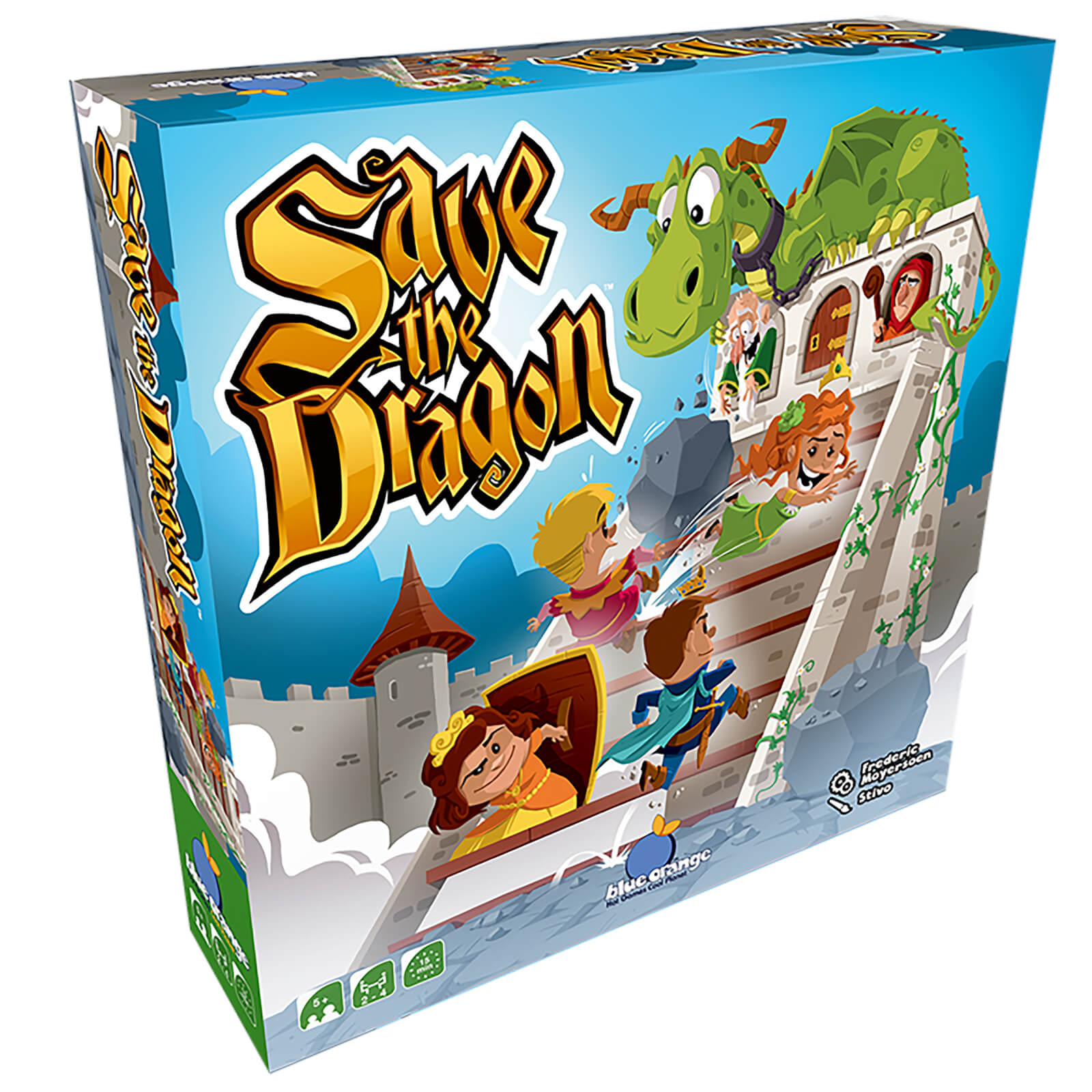 Image of Save the Dragon Board Game