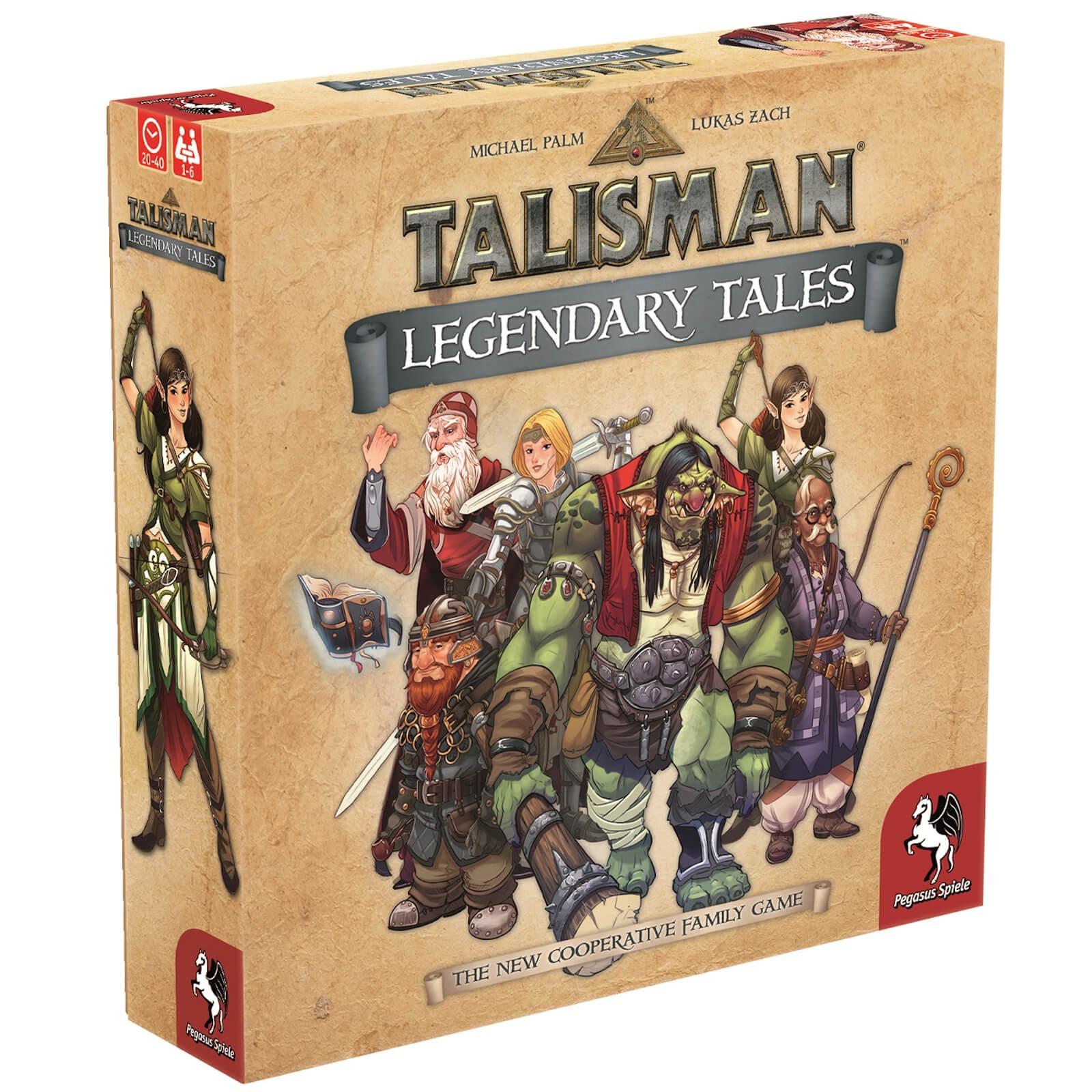 Image of Talisman Legendary Tales Board Game