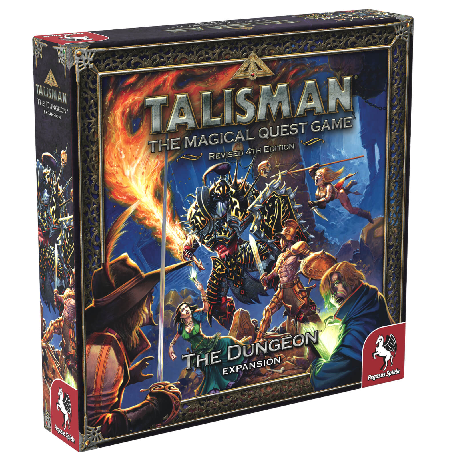 Image of Talisman Board Game 4th Edition The Dungeon Expansion