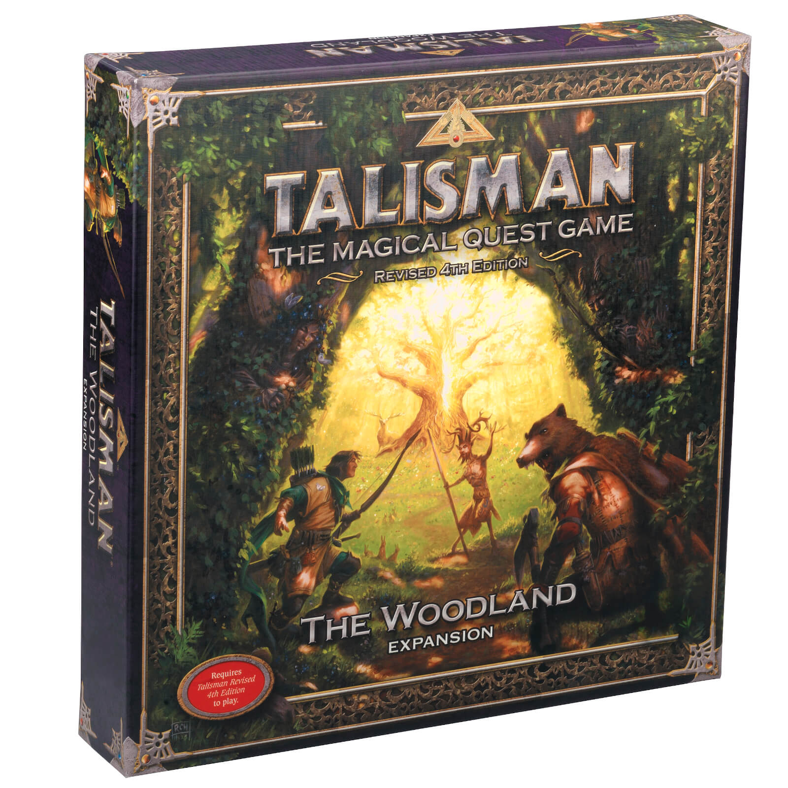Image of Talisman Board Game 4th Edition The Woodland Expansion
