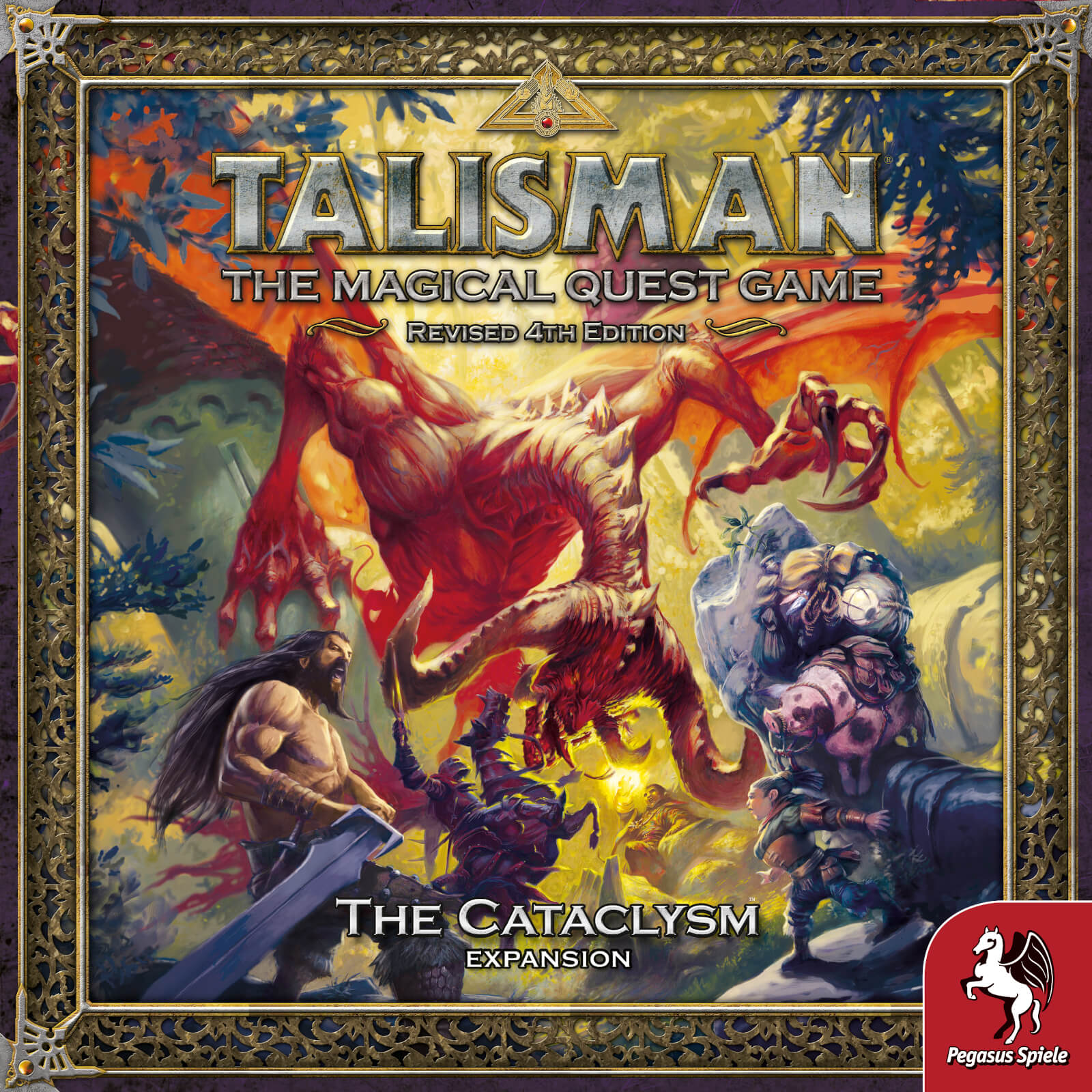 Image of Talisman The Cataclysm Expansion