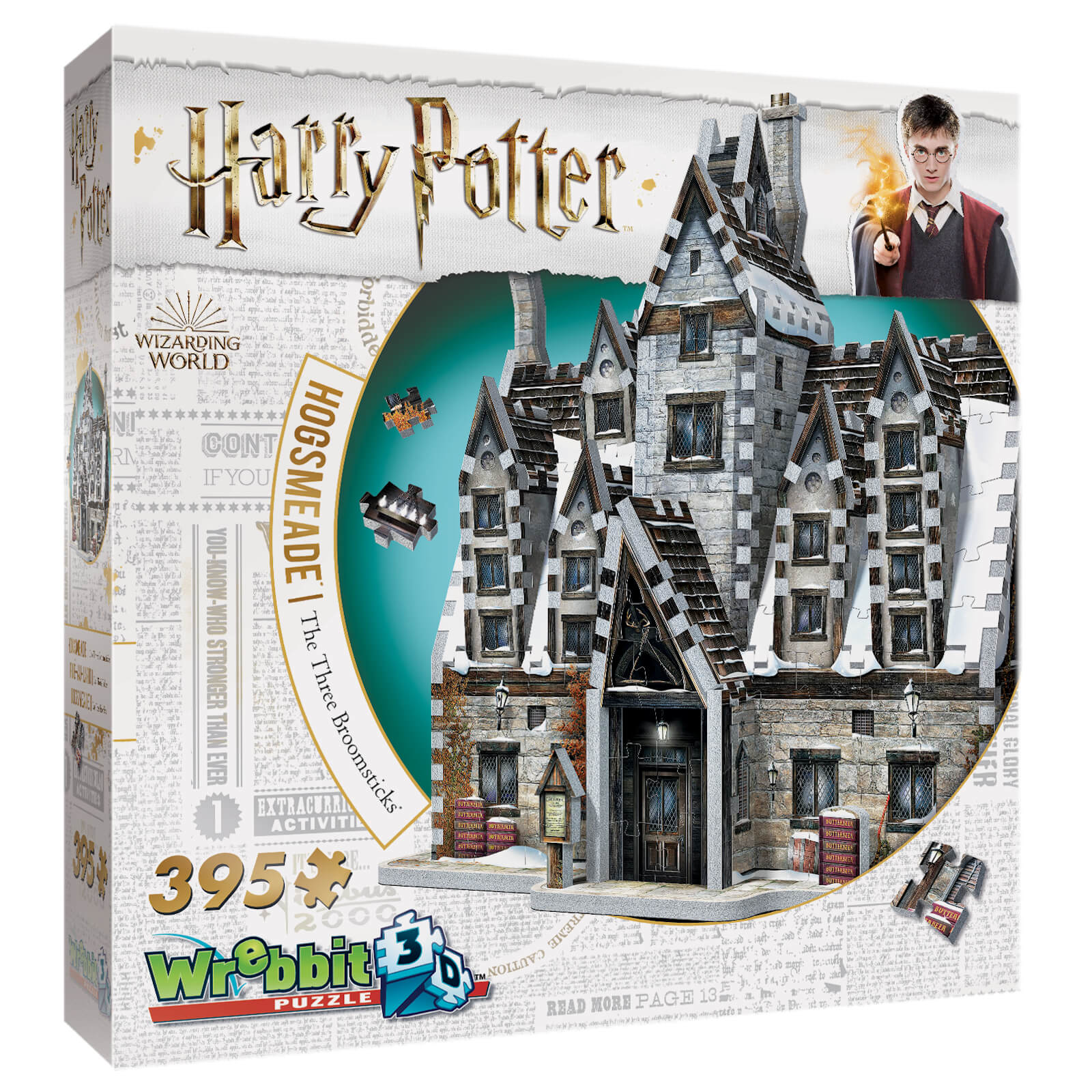 Image of Harry Potter Hogsmeade The Three Broomsticks 3D Puzzle (395 Pieces)