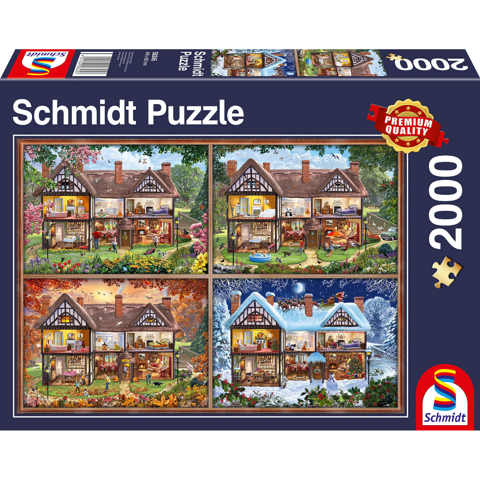Image of House of Four Seasons Puzzle (2000 Pieces)
