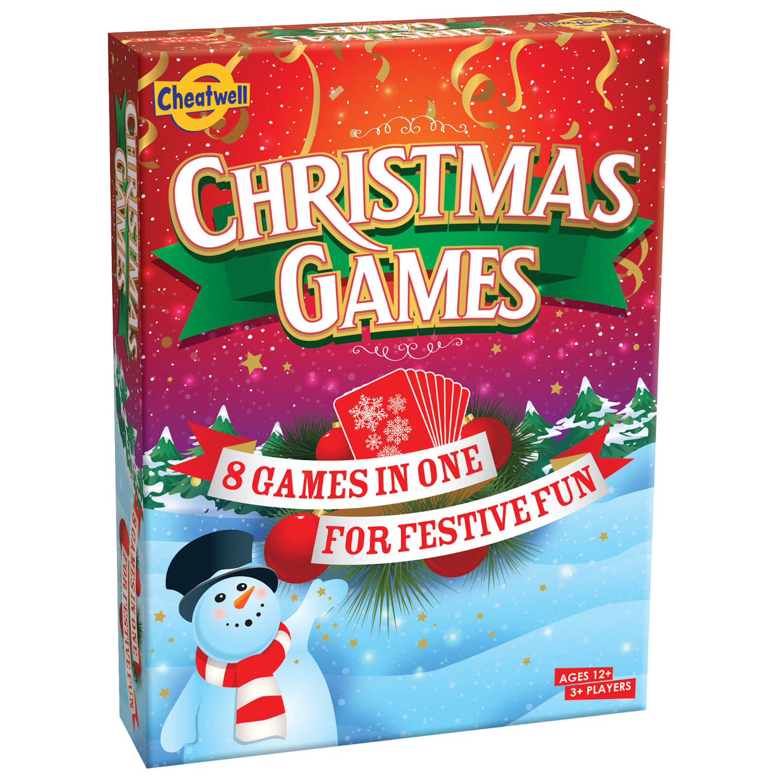 Image of Christmas Games Card Game