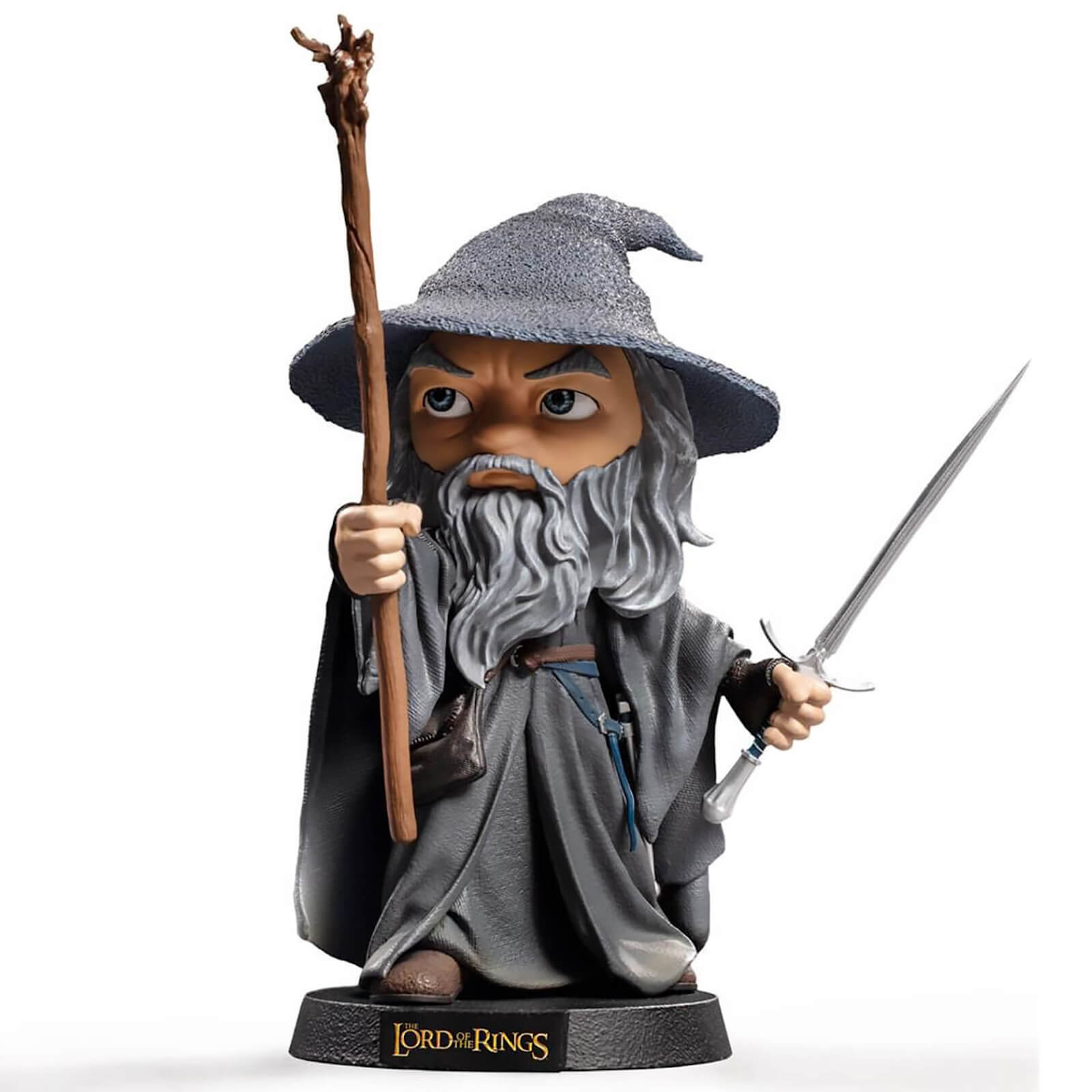 Click to view product details and reviews for Iron Studios Lord Of The Rings Mini Co Pvc Figure Gandalf 18 Cm.