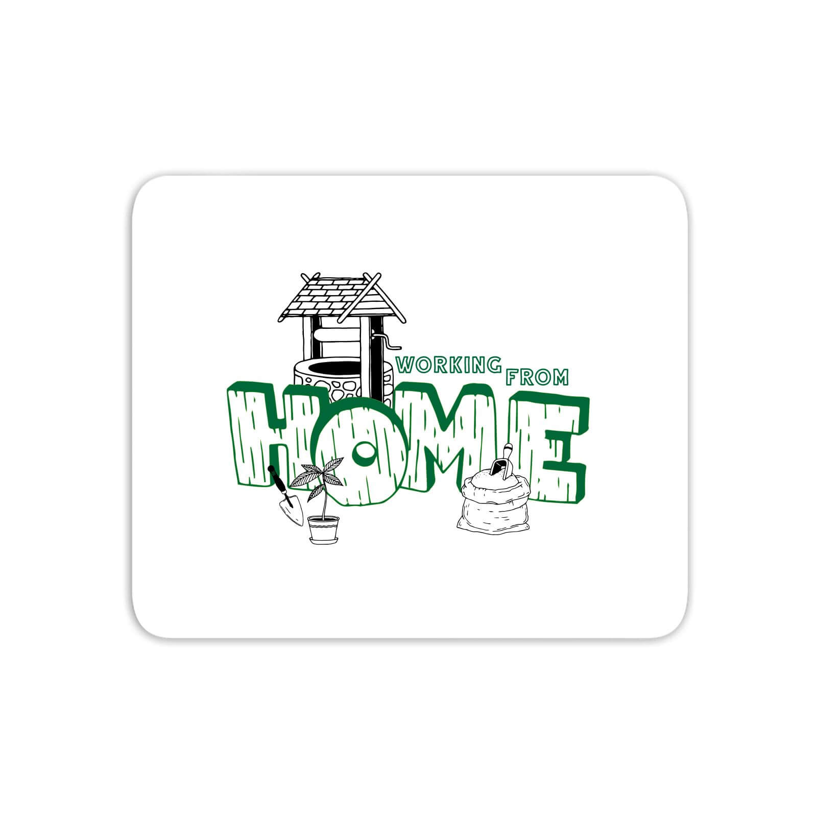 Gardening Working From Home Mouse Mat