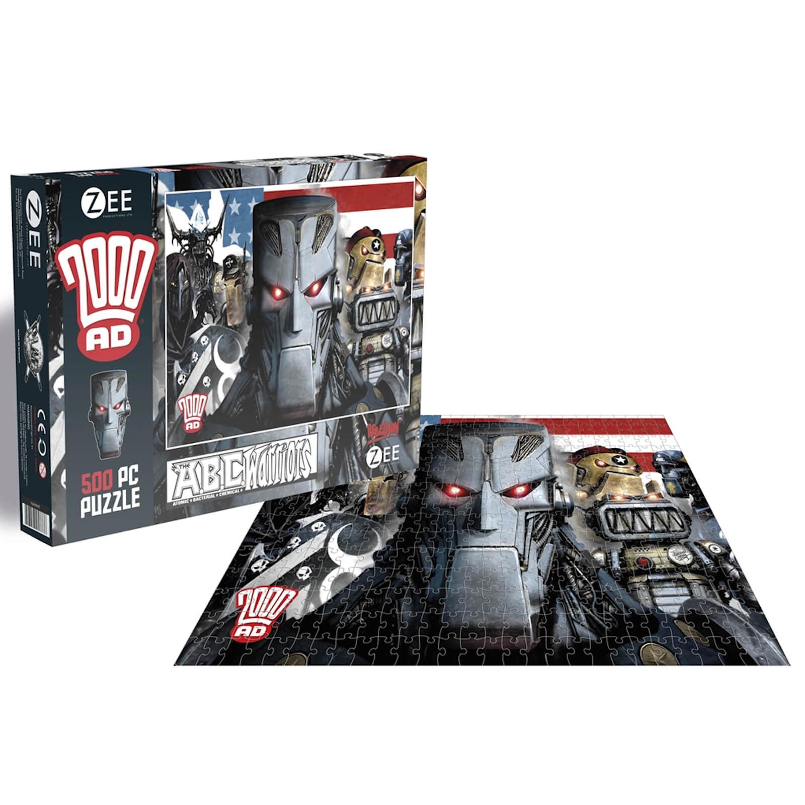 2000AD ABC Warriors (500 Piece Jigsaw Puzzle)