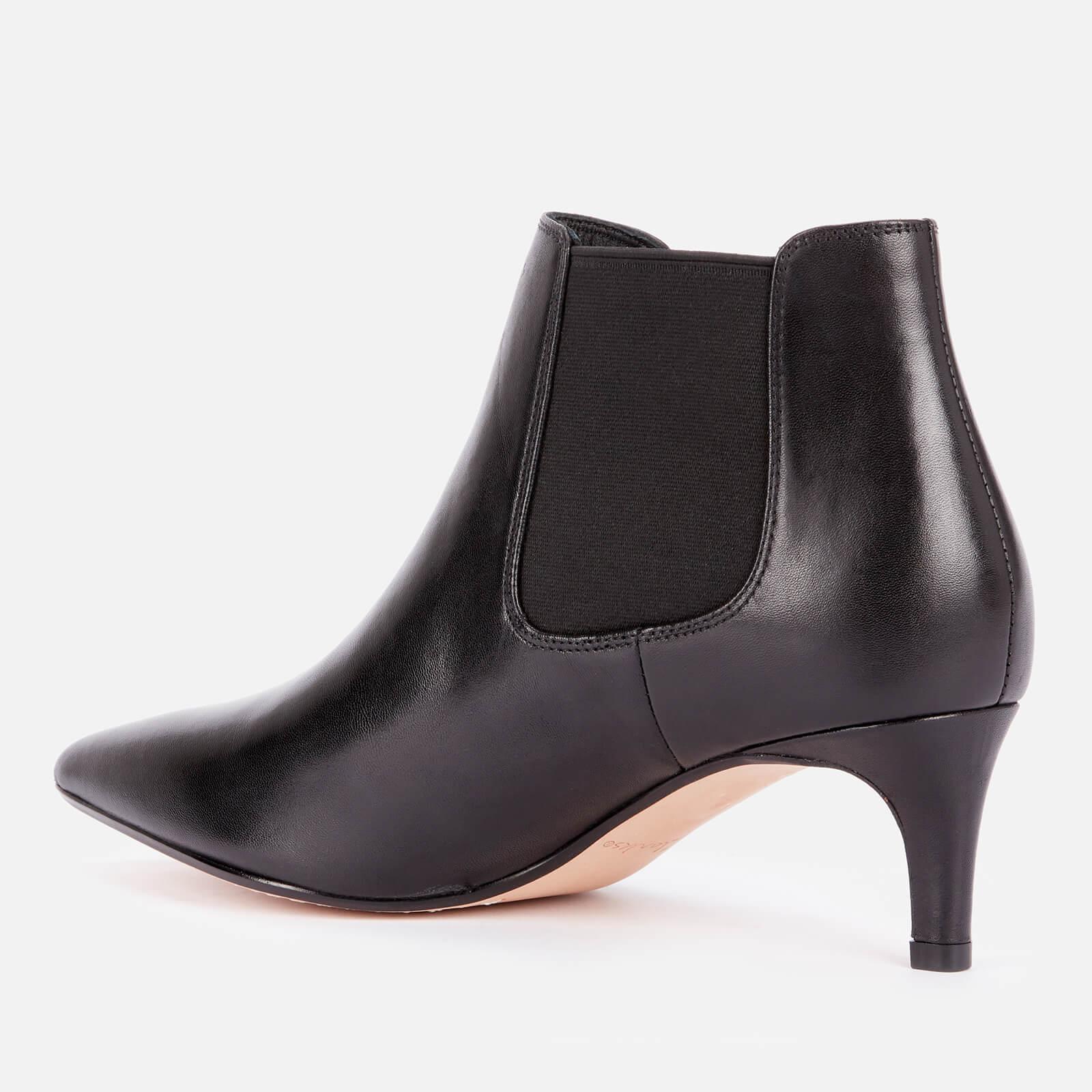 Clarks Women's Laina55 Leather Shoe Boots - Black - Uk 3