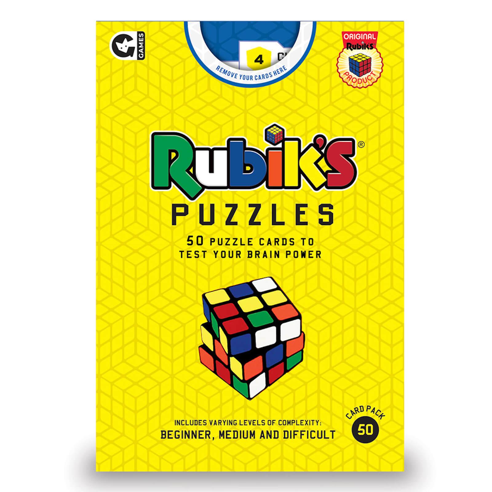 Image of Rubiks Challenge Cards