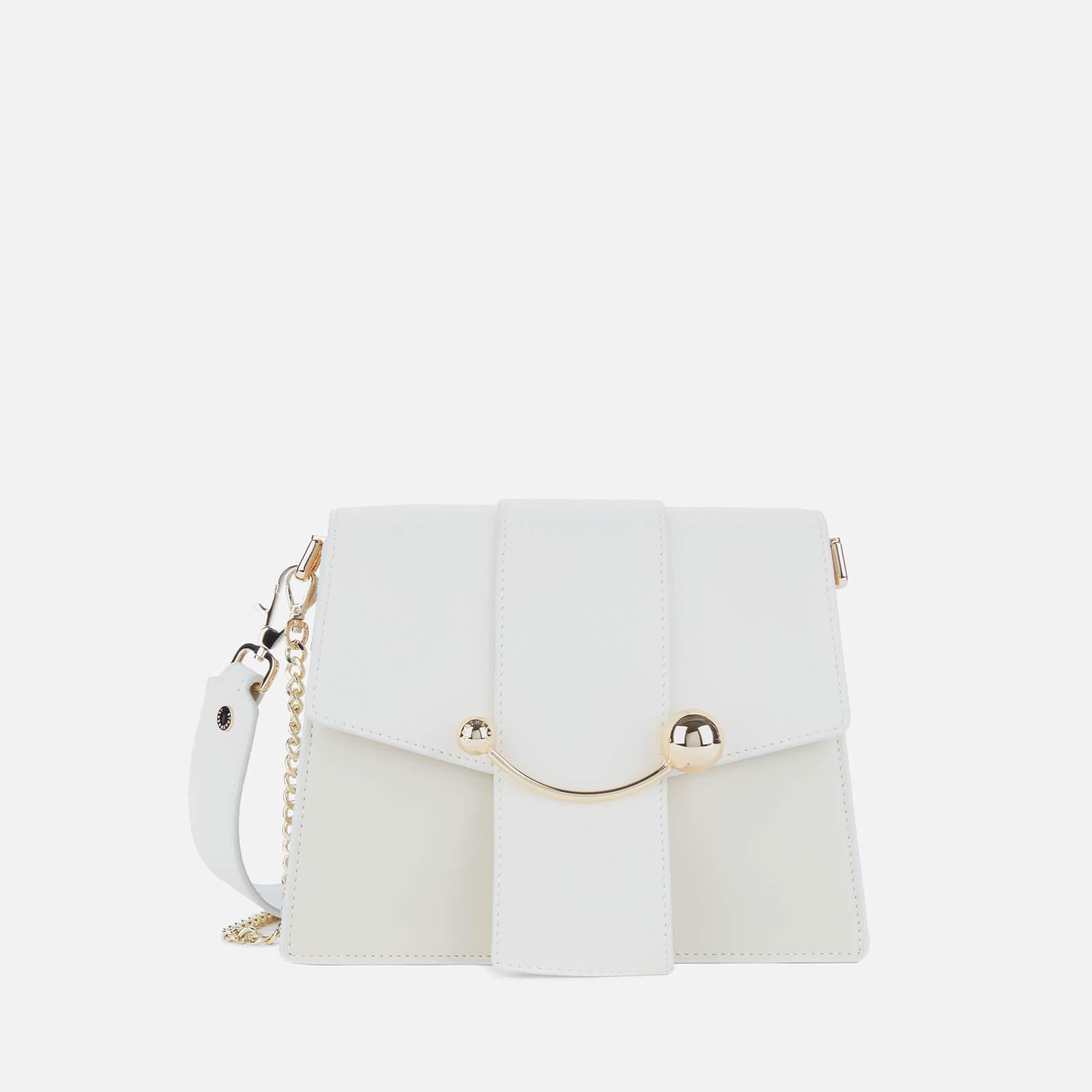 Strathberry Women's Box Crescent Shoulder Bag - Vanilla/Diamond