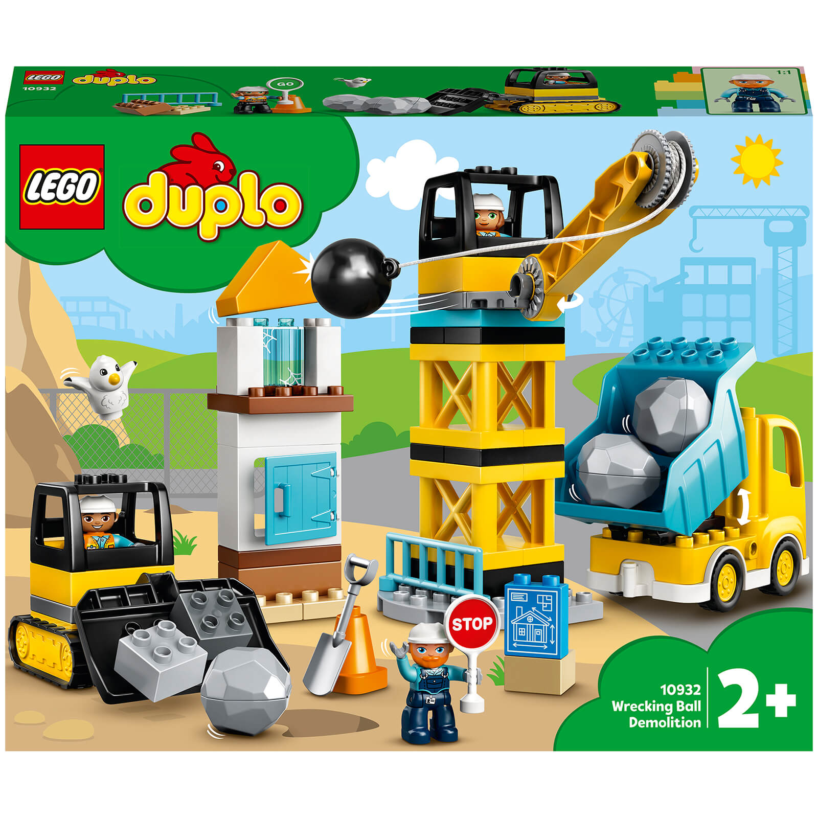 Image of 10932 LEGO® DUPLO® Construction site with demolition bulb