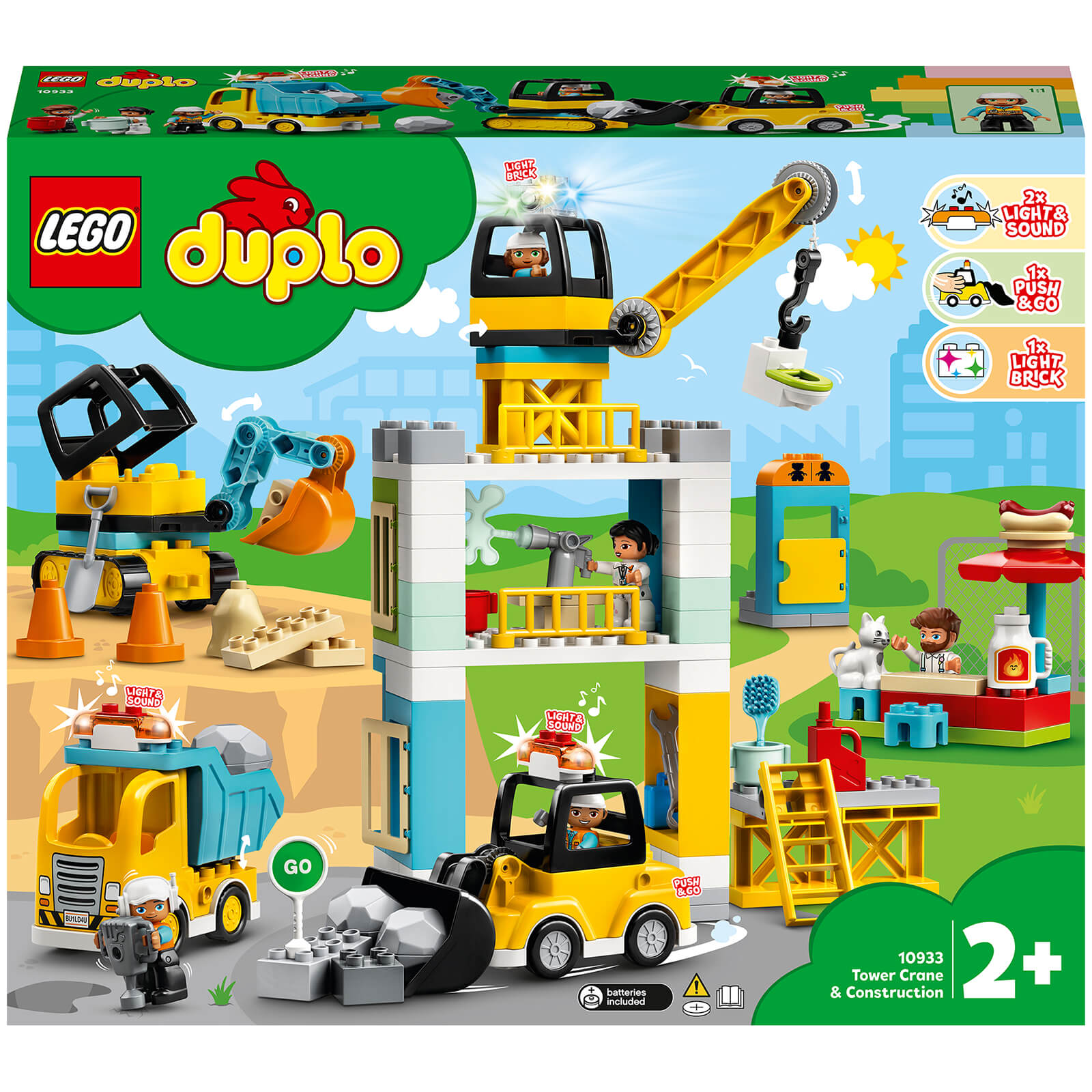 Image of 10933 LEGO® DUPLO® Large construction site with light and sound