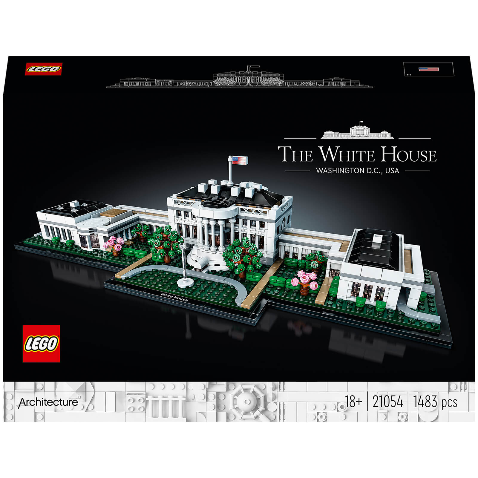 Image of 21054 LEGO® ARCHITECTURE The White House