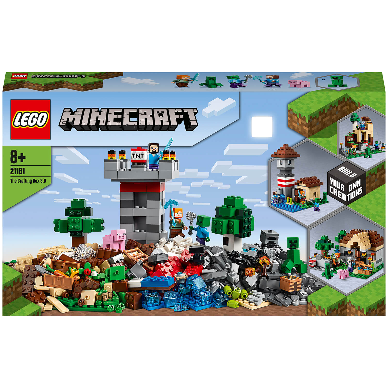 Image of 21161 LEGO® MINECRAFT The Crafting-Box 3.0