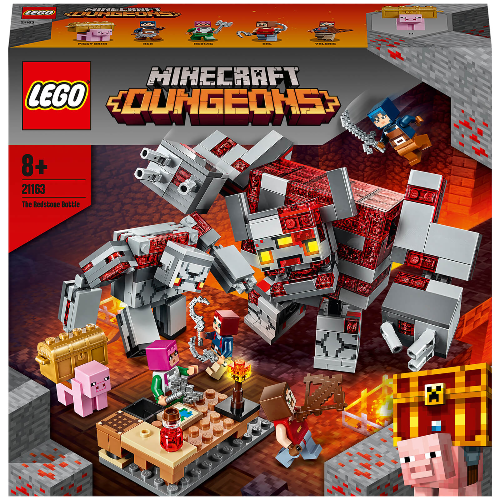 Image of LEGO Minecraft: The Redstone Battle Building Set (21163)