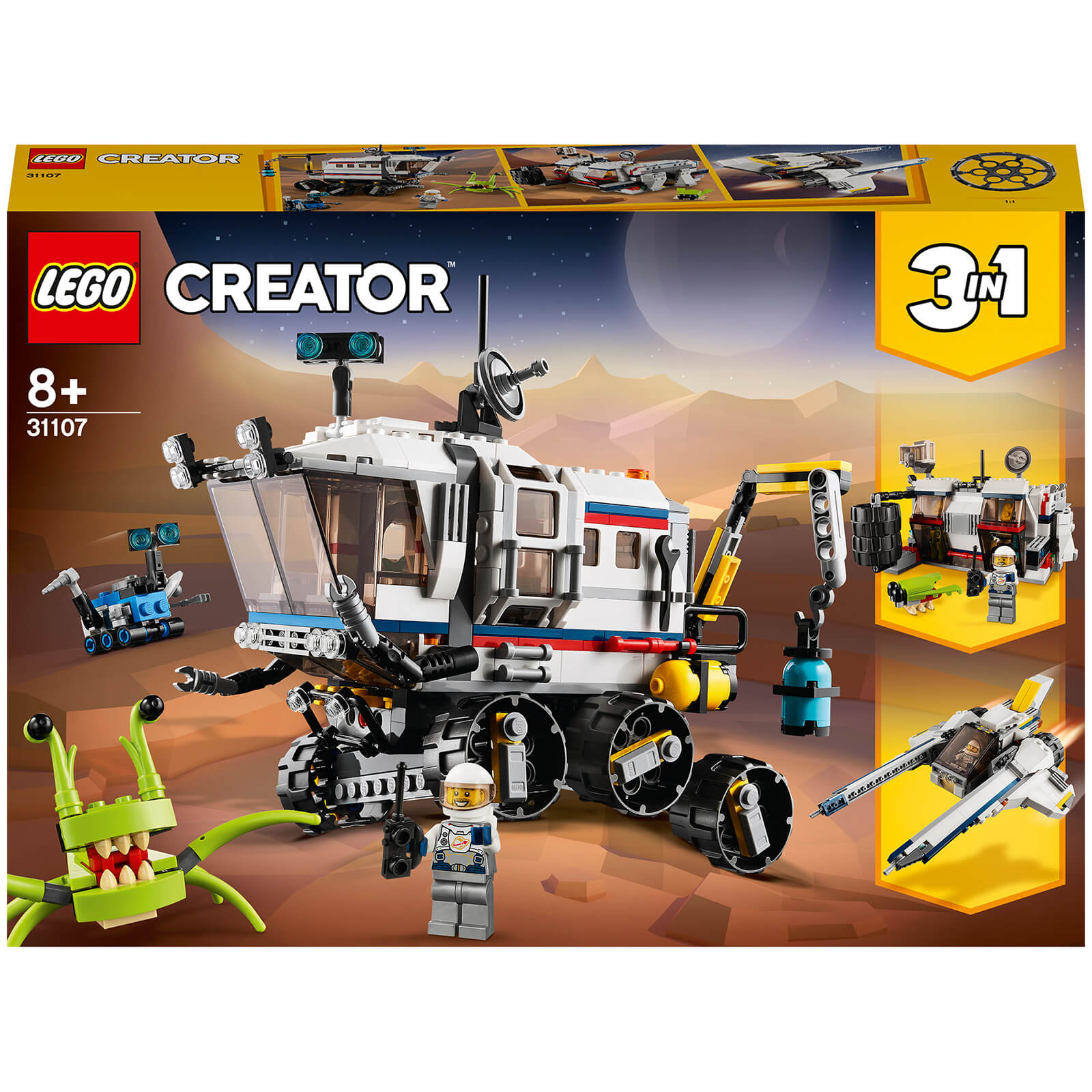 Image of 31107 LEGO® CREATOR Planet exploration rover
