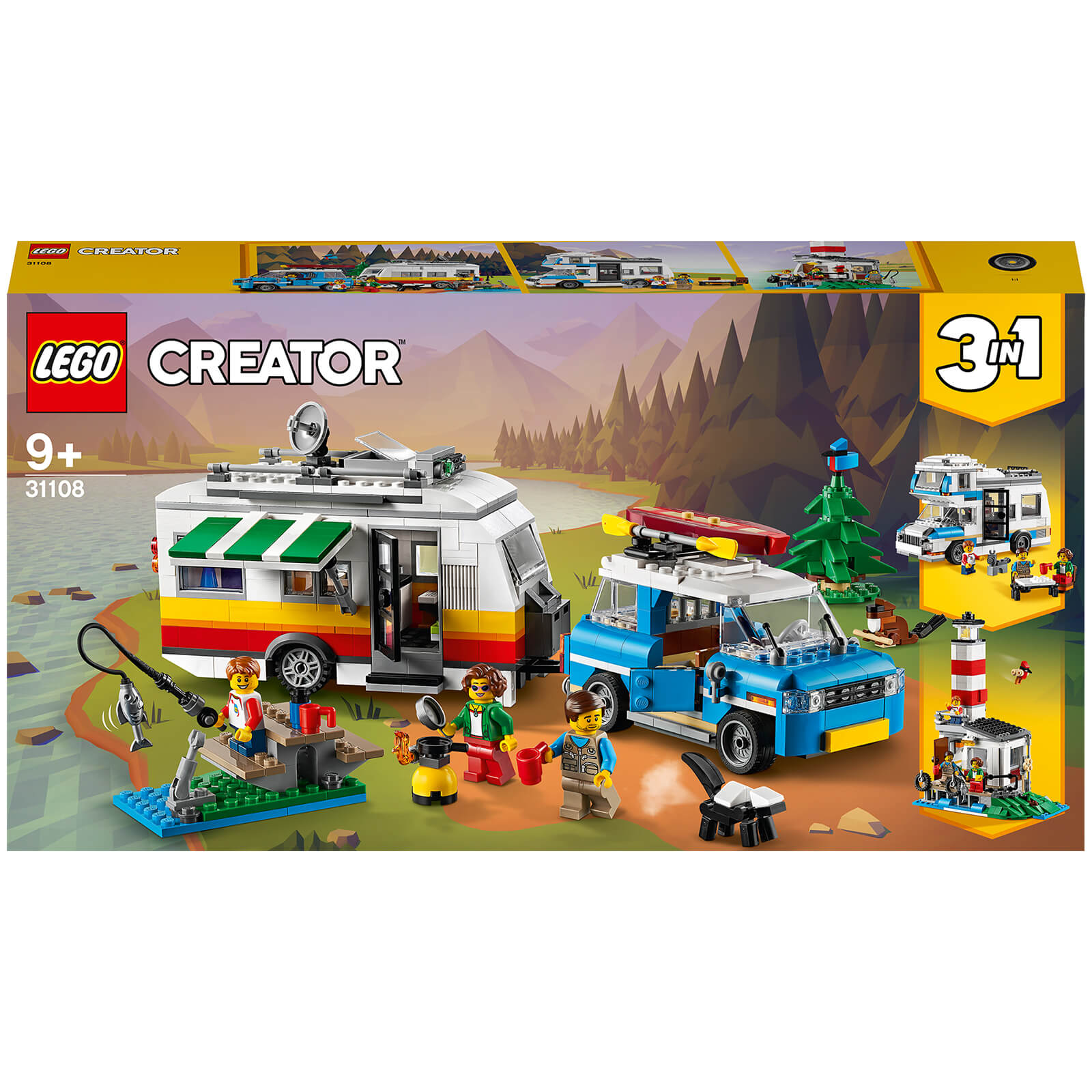 Image of 31108 LEGO® CREATOR Camping vacation